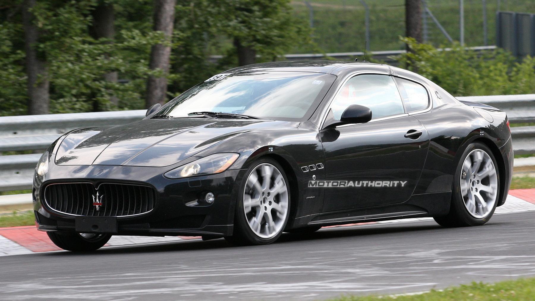Maserati Gran Turismo mystery mule spy shots