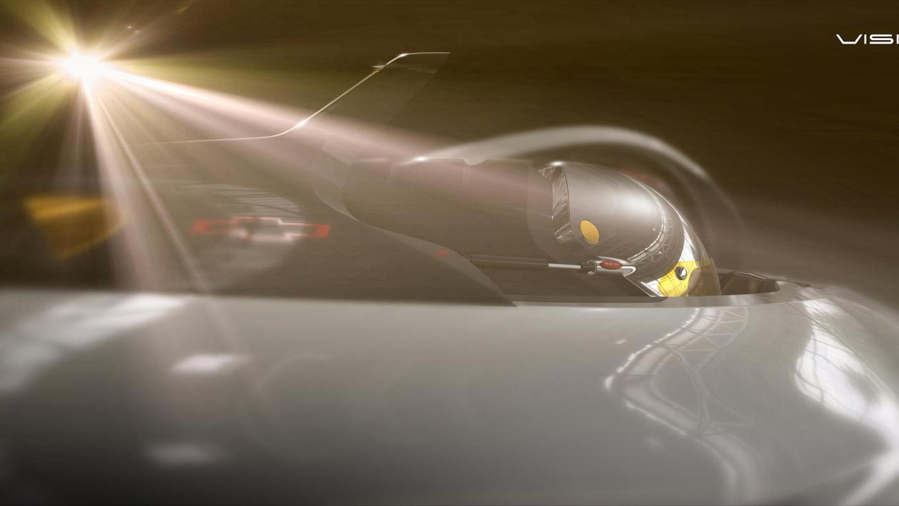 Chevrolet Chaparral 2X Vision Gran Turismo concept teaser