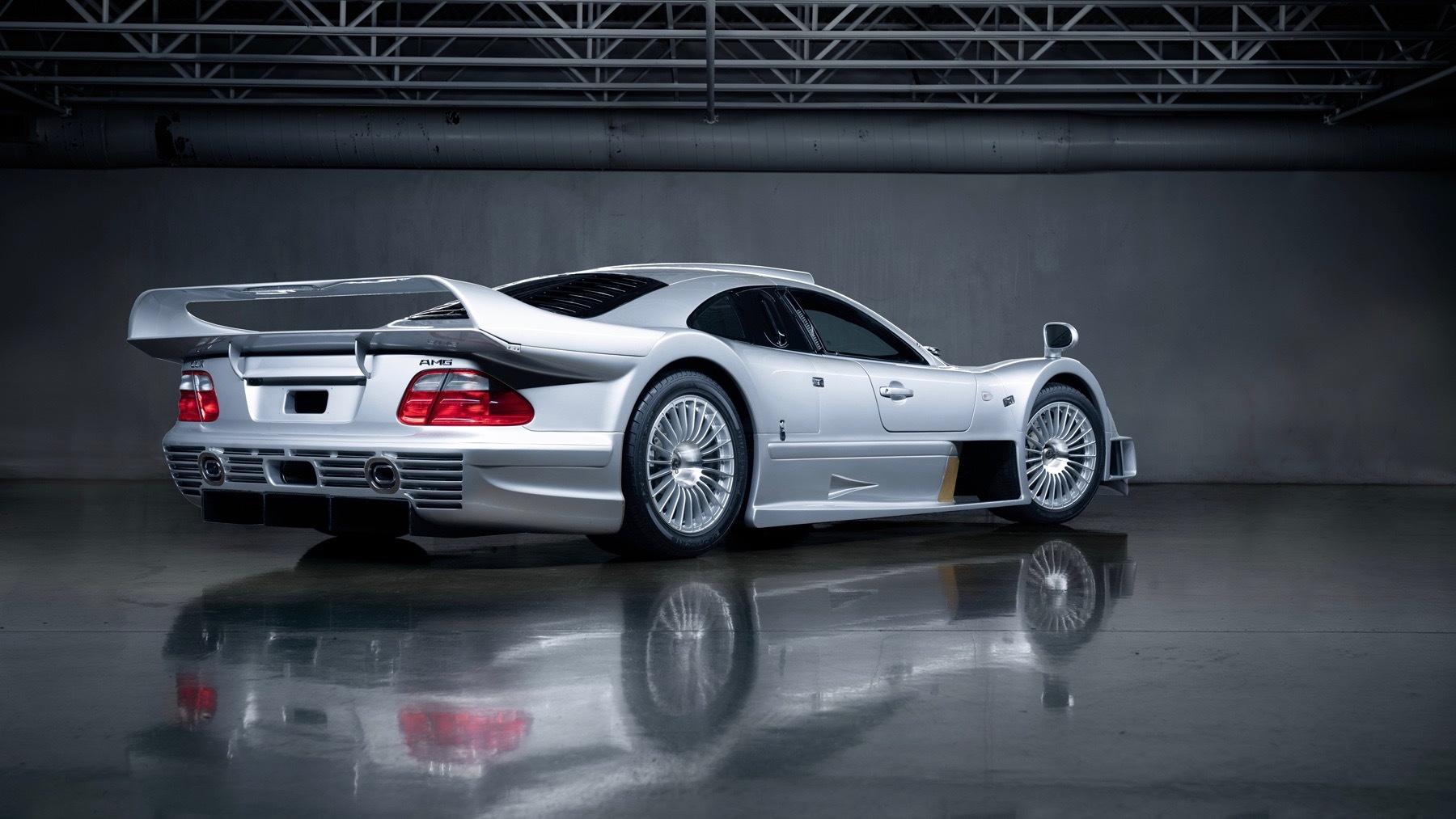 1998 Mercedes-Benz CLK GTR (photo via Gooding & Company)