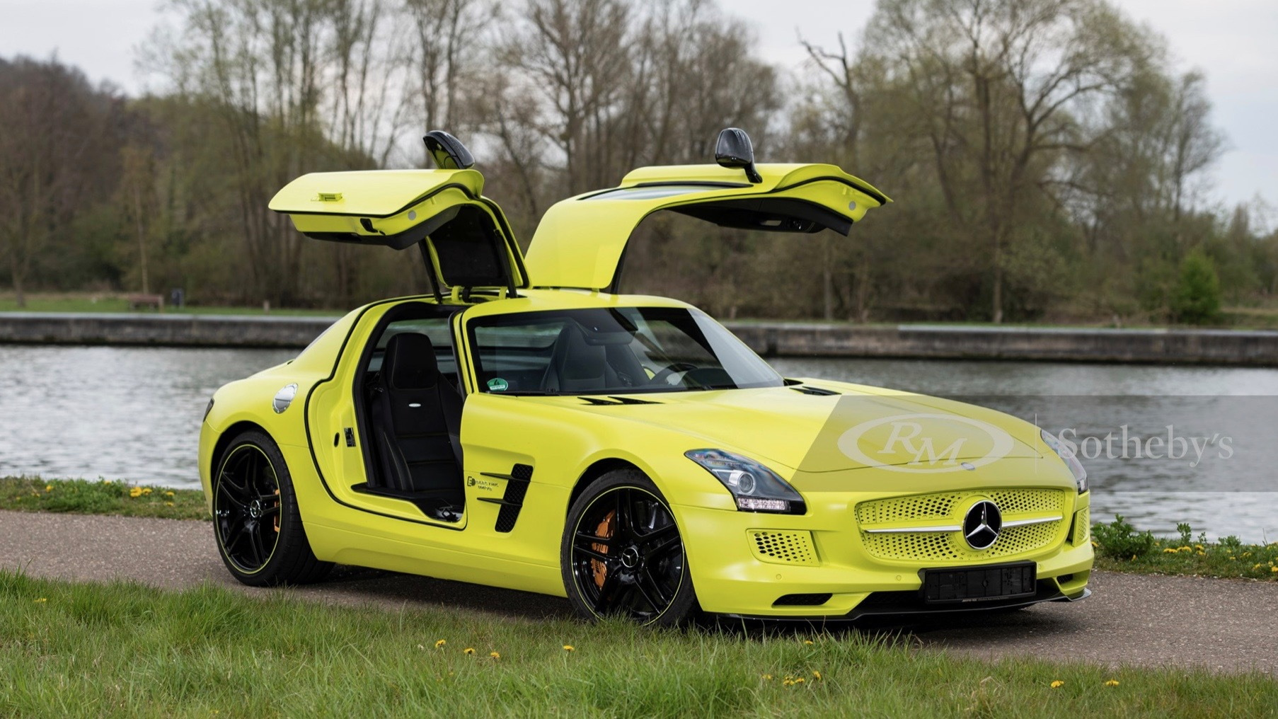 2013 Mercedes-Benz SLS AMG Electric Drive (Photo by RM Sotheby's)