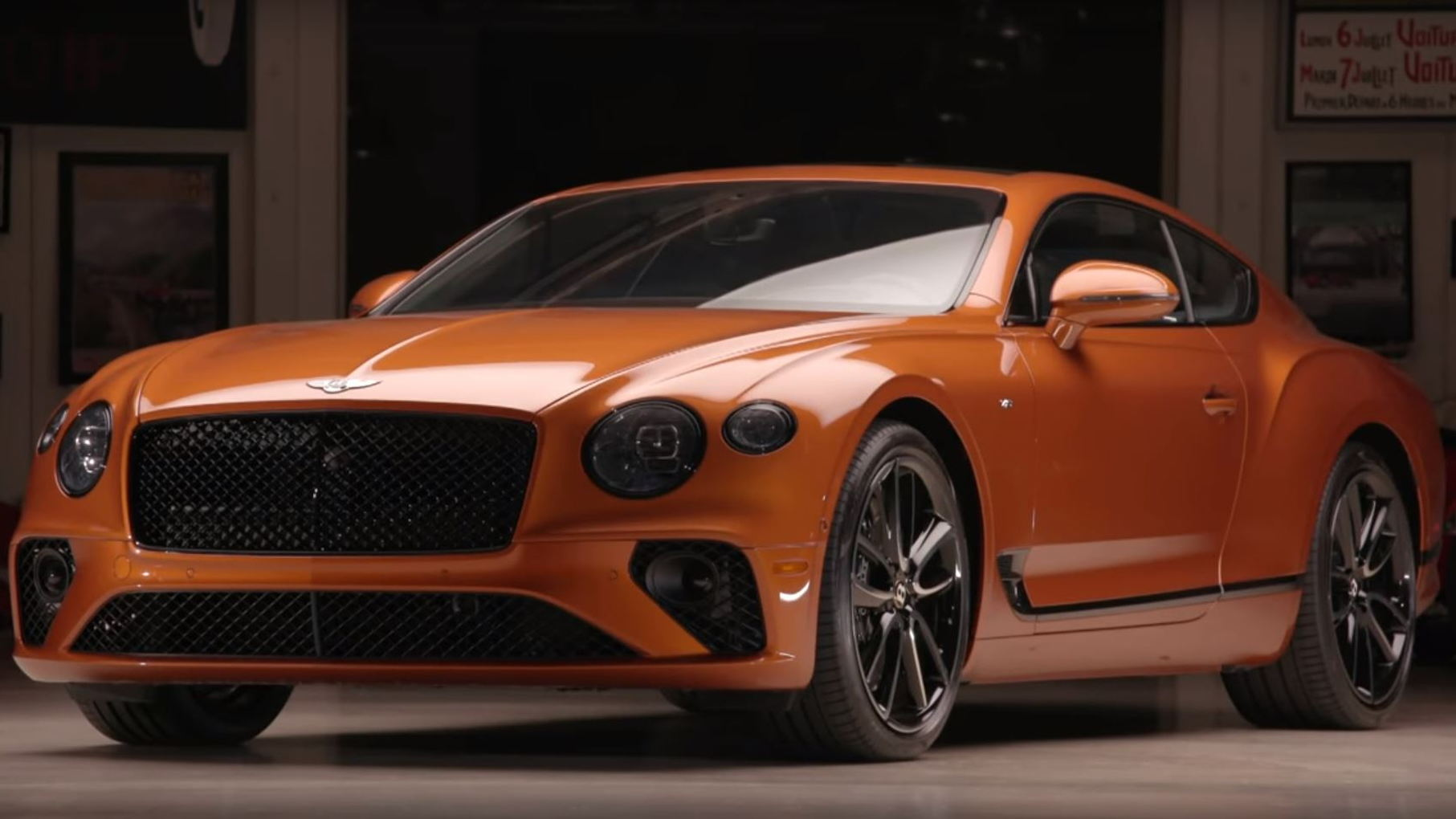 2020 Bentley Continental GT on JLG