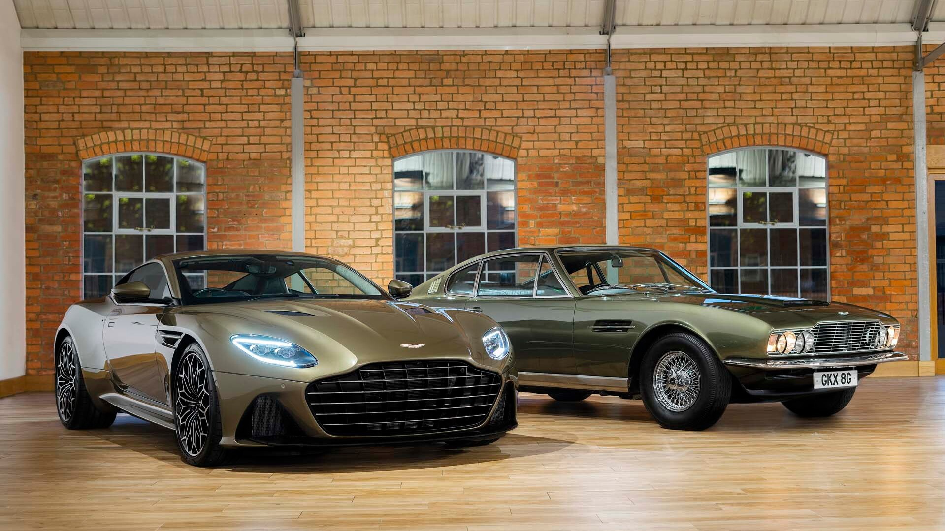 Latest Aston Martin DBS special edition pays tribute to James Bond