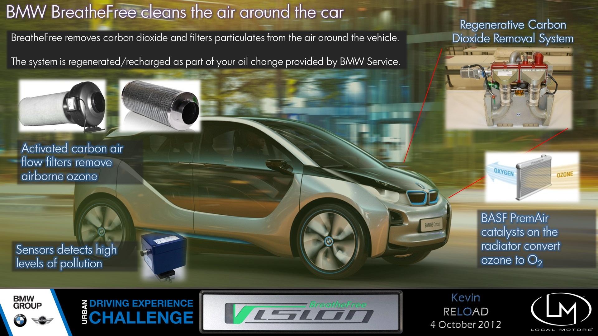 Kevin Lo's BMW Vision BreatheFree concept