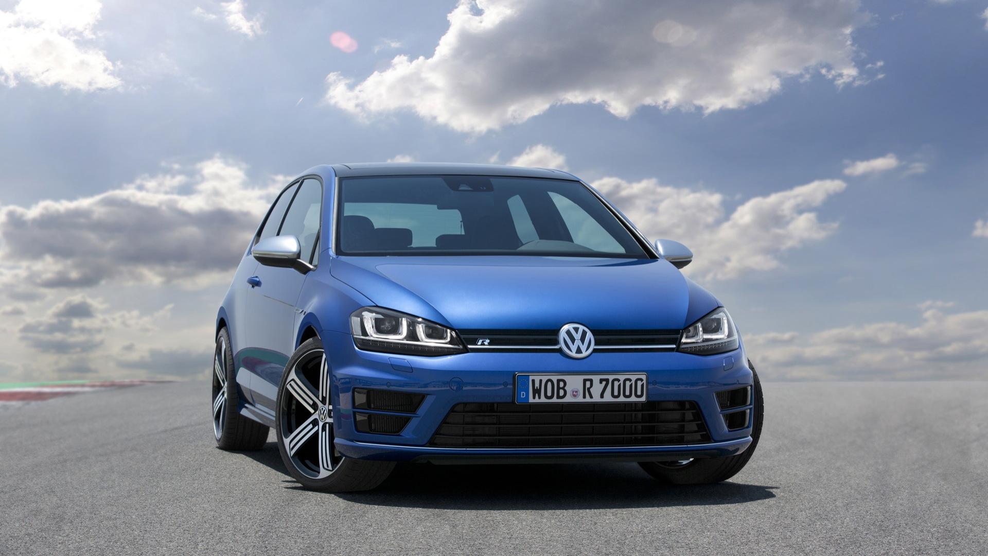 2015 Volkswagen Golf R (Euro spec)