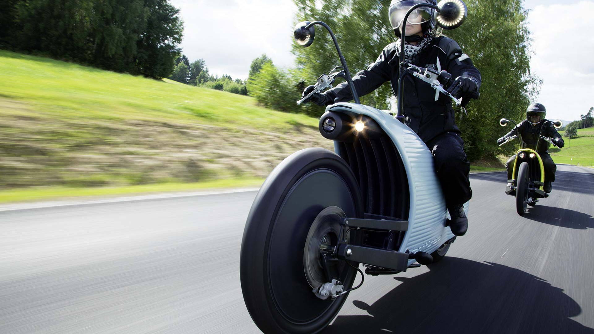 Johammer electric motorcycle