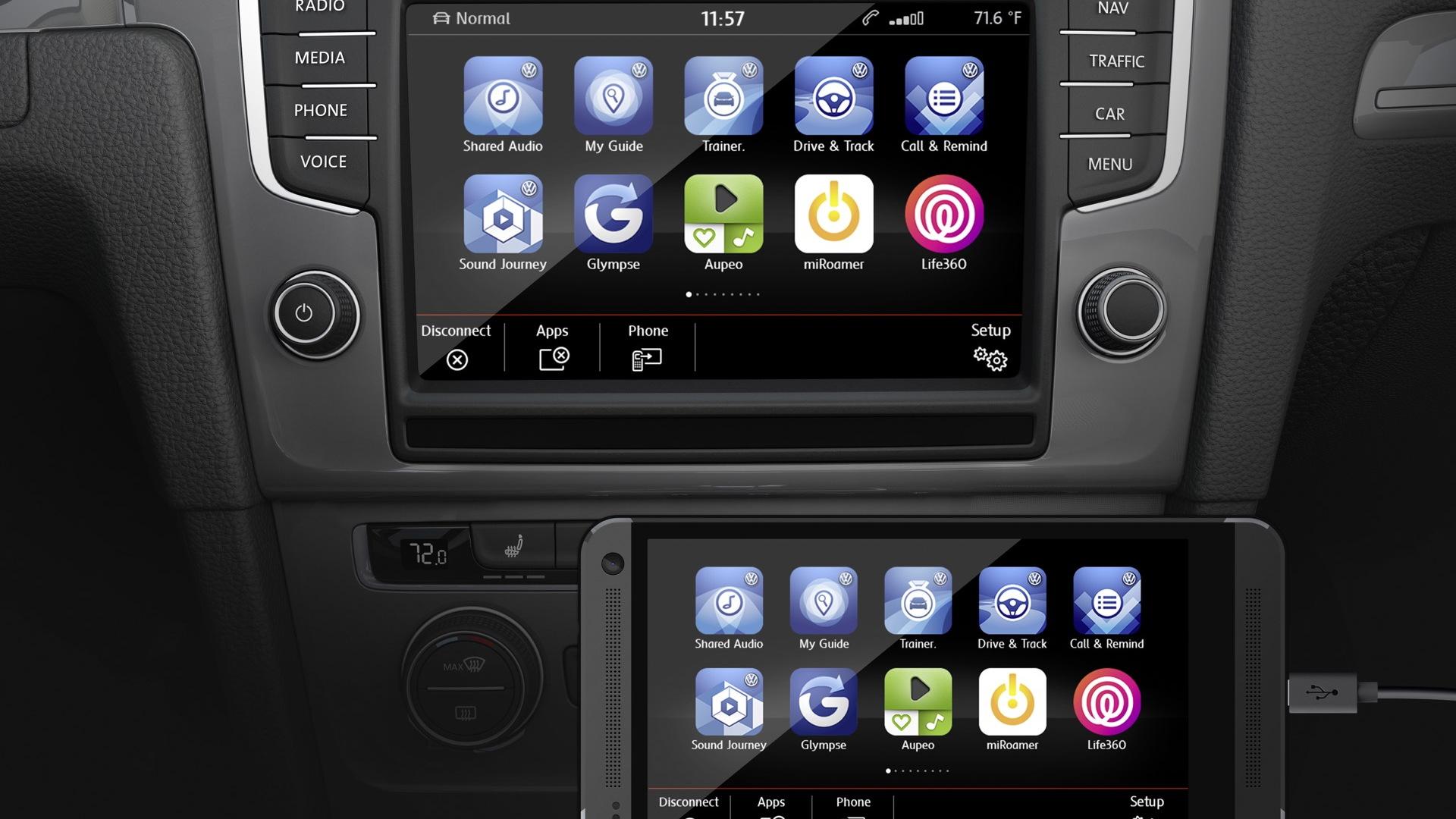 Volkswagen App Connect  -  2015 CES