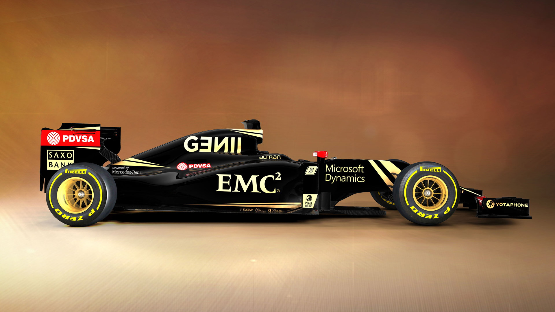 Lotus E23 Hybrid 2015 Formula One car