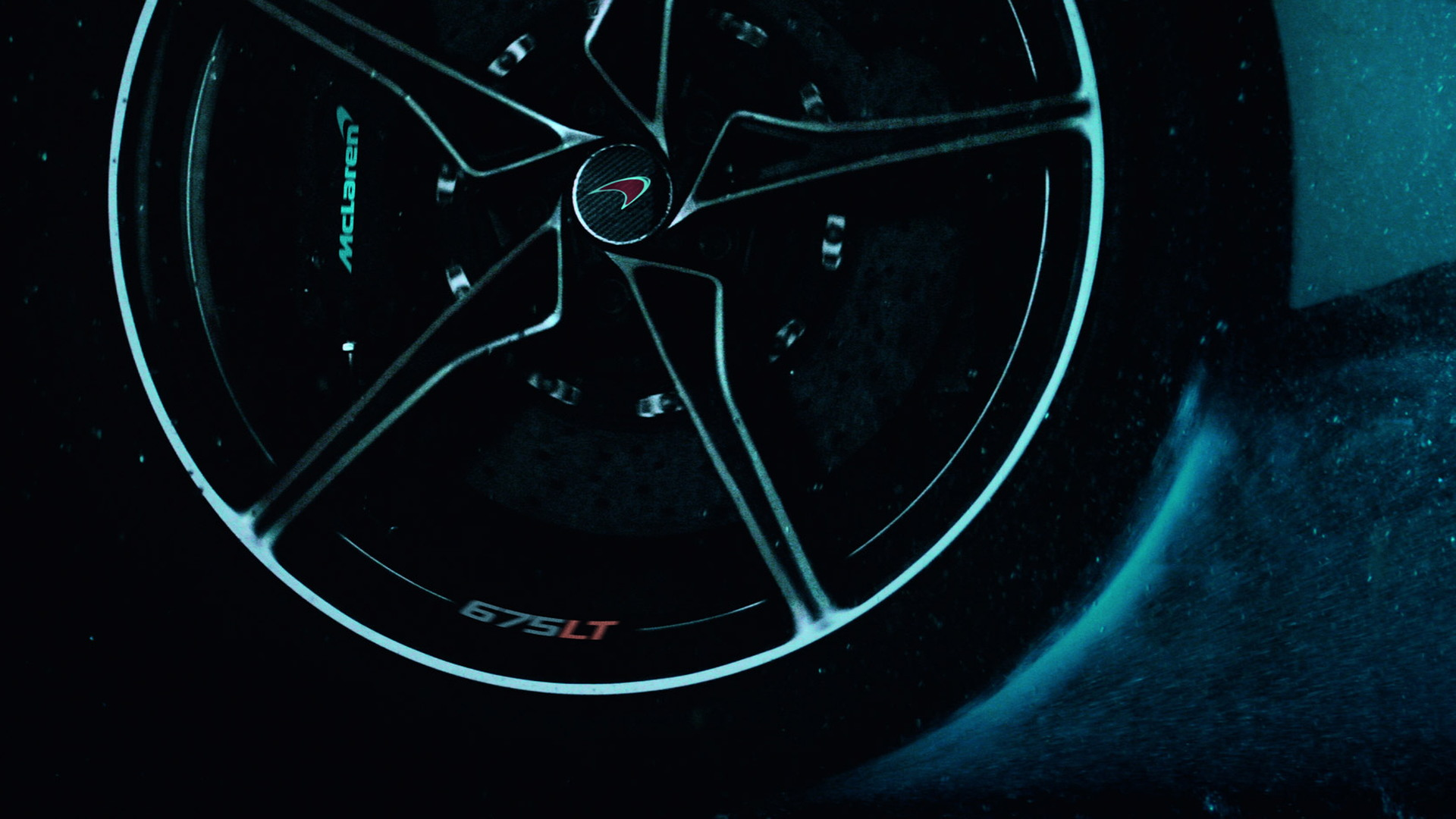 Teaser for McLaren 675LT debuting at 2015 Geneva Motor Show