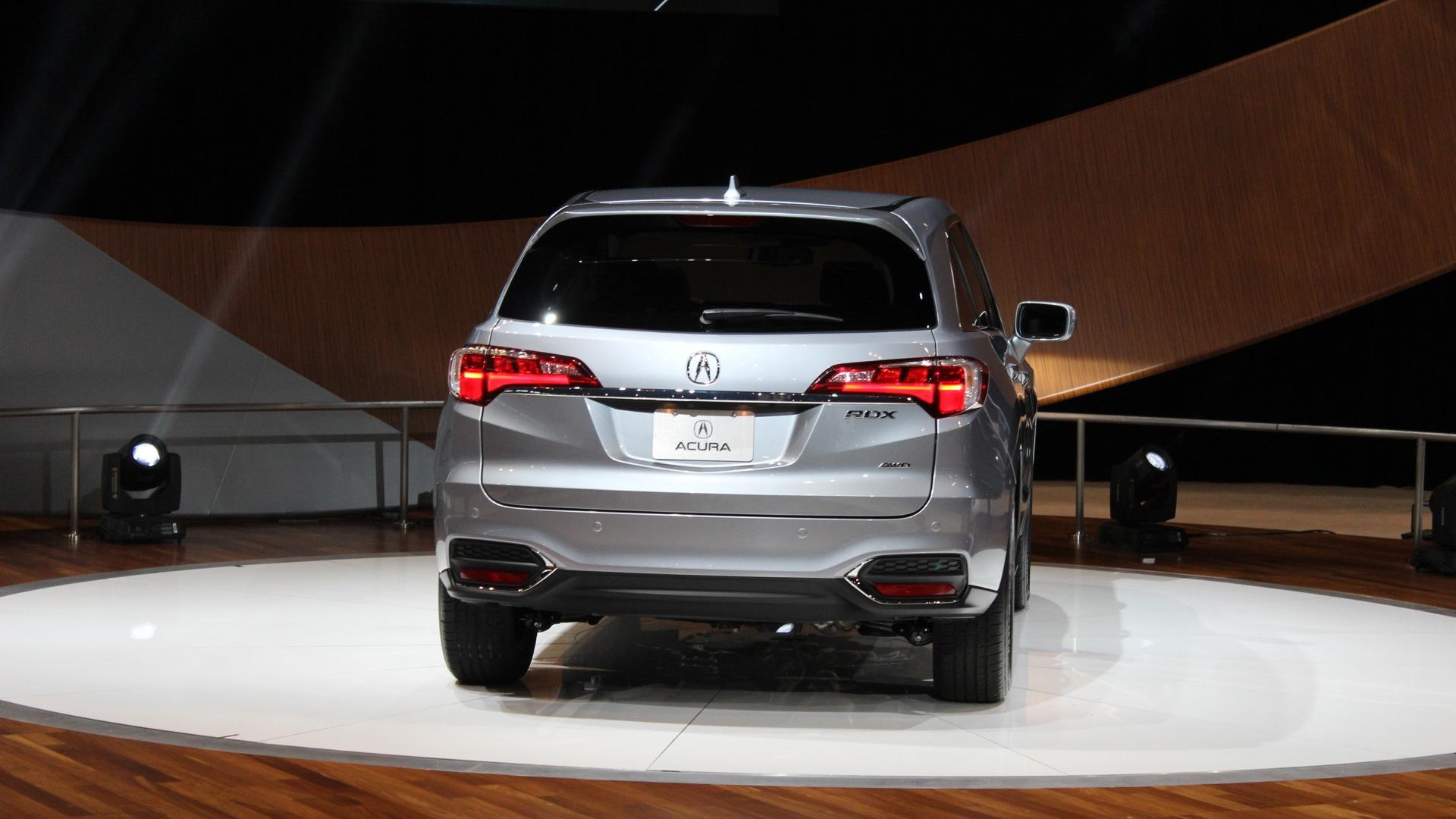 2016 Acura Rdx Debuts At 2015 Chicago Auto Show Live Photos