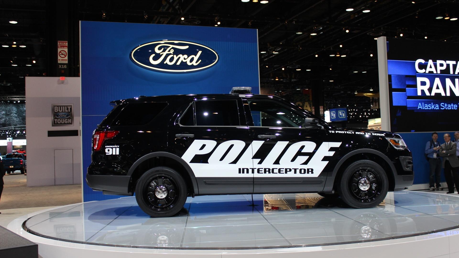 Ford's Explorer Police Interceptor Utility Gets Stealthy ...