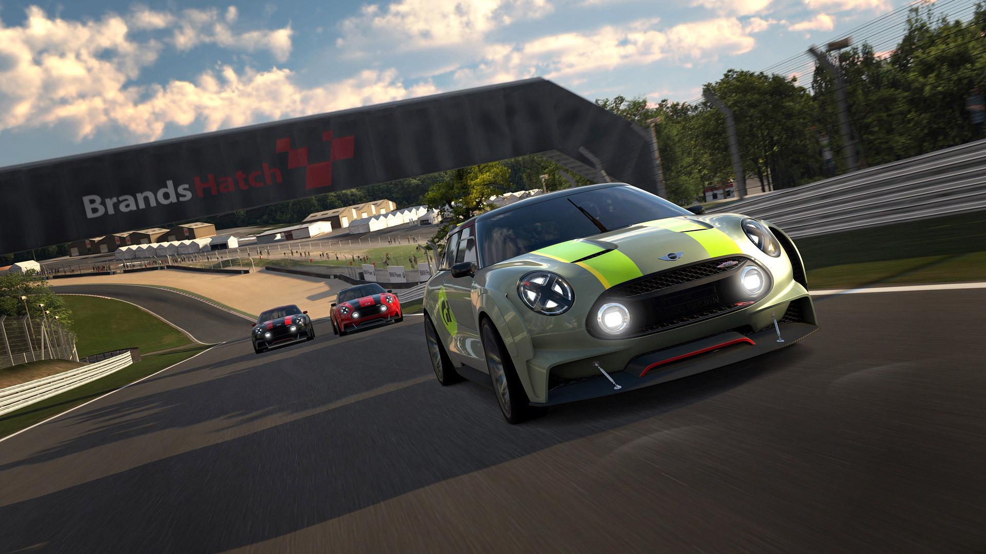 MINI Clubman Vision Gran Turismo concept