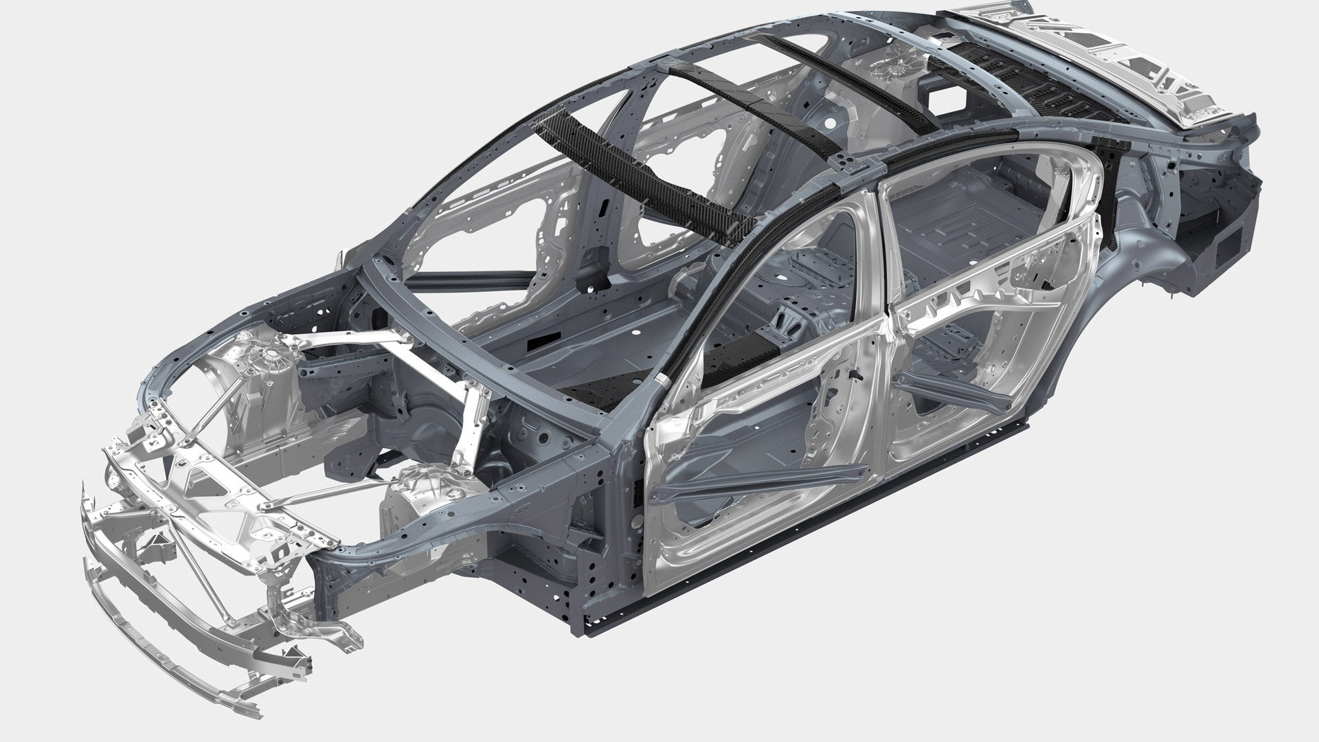 2016 BMW 7-Series multi-material construction