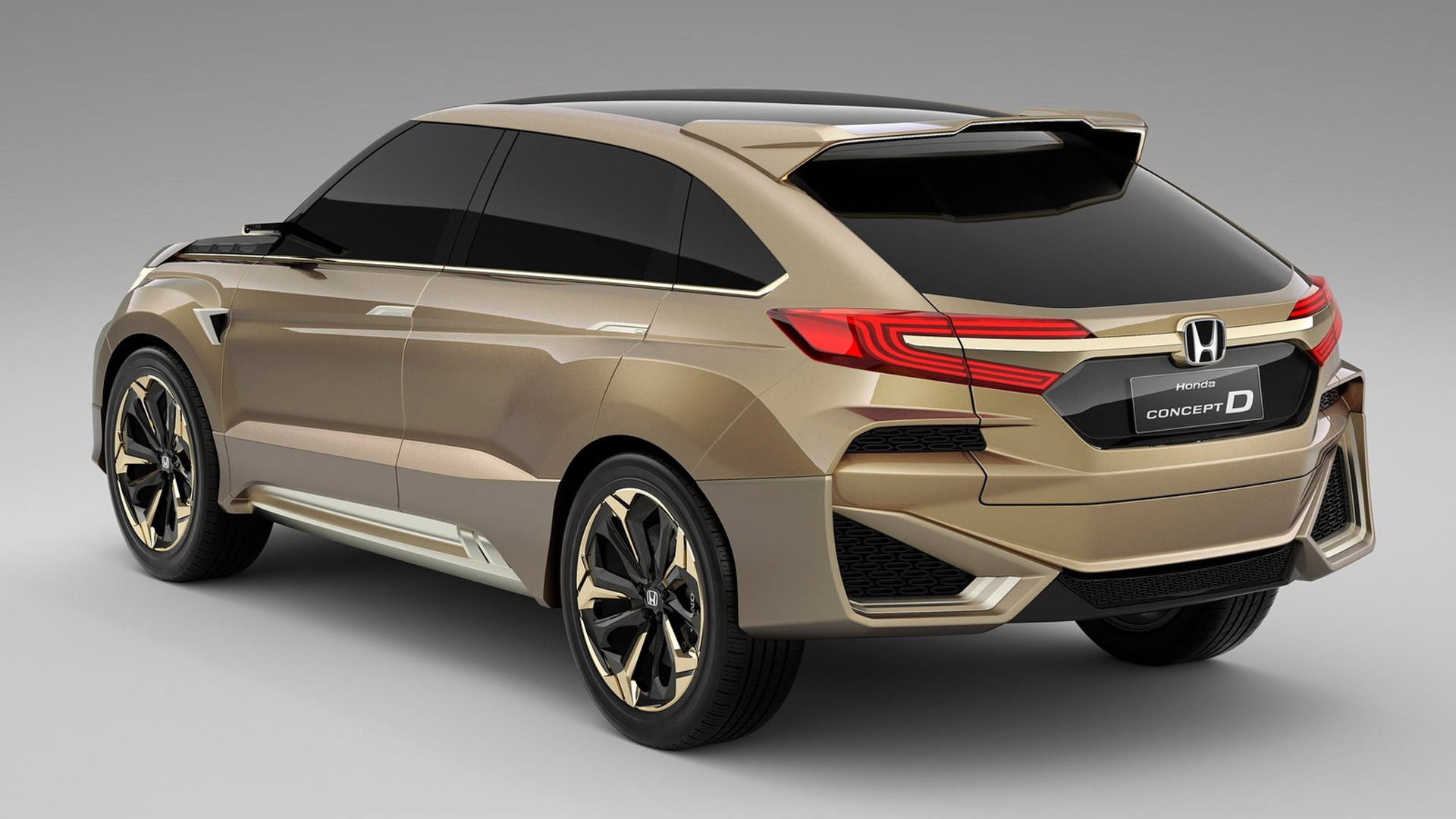Honda Concept D, 2015 Shanghai Auto Show