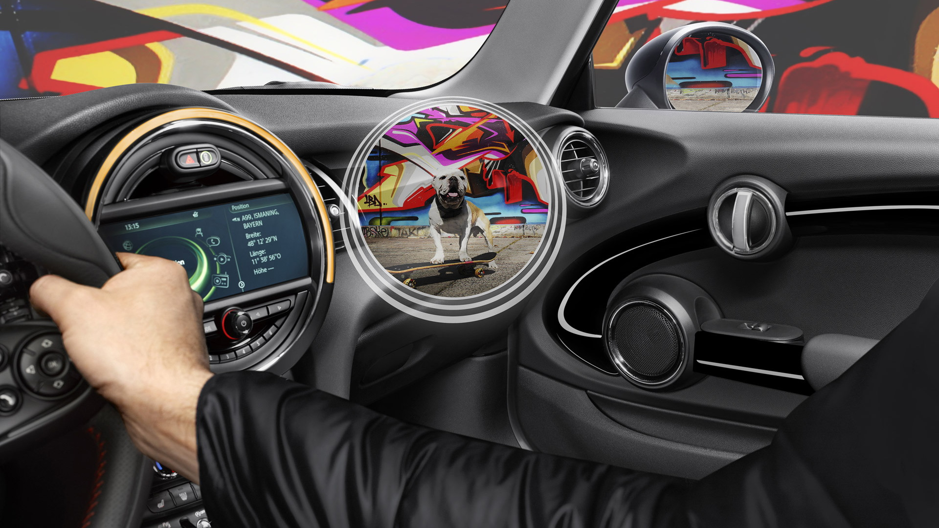 MINI Augmented Vision concept, 2015 Shanghai Auto Show