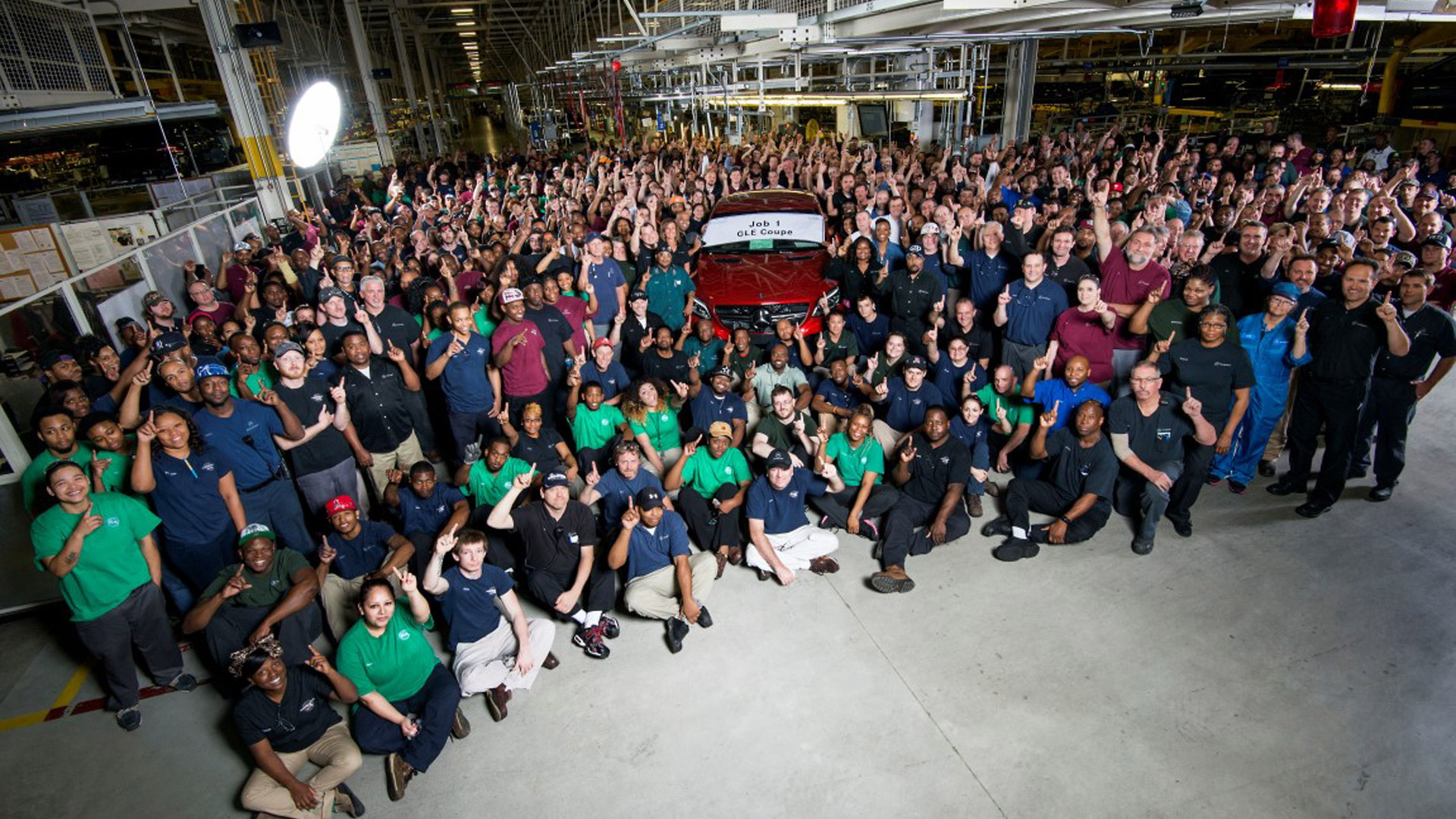 Start of Mercedes-Benz GLE Coupe production at Tuscaloosa plant