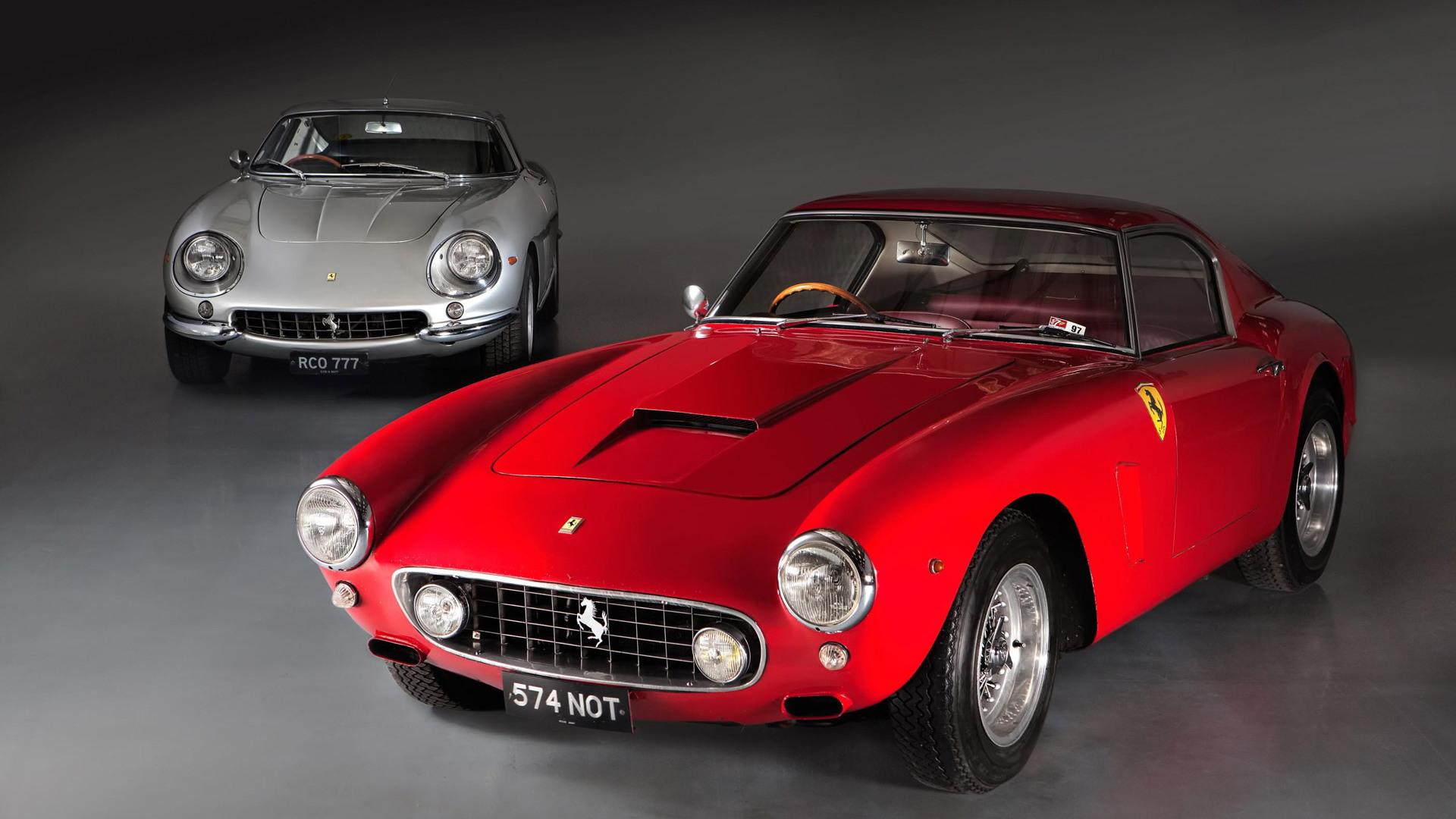 1960 Ferrari 250 GT SWB and 1967 275 GTB/4