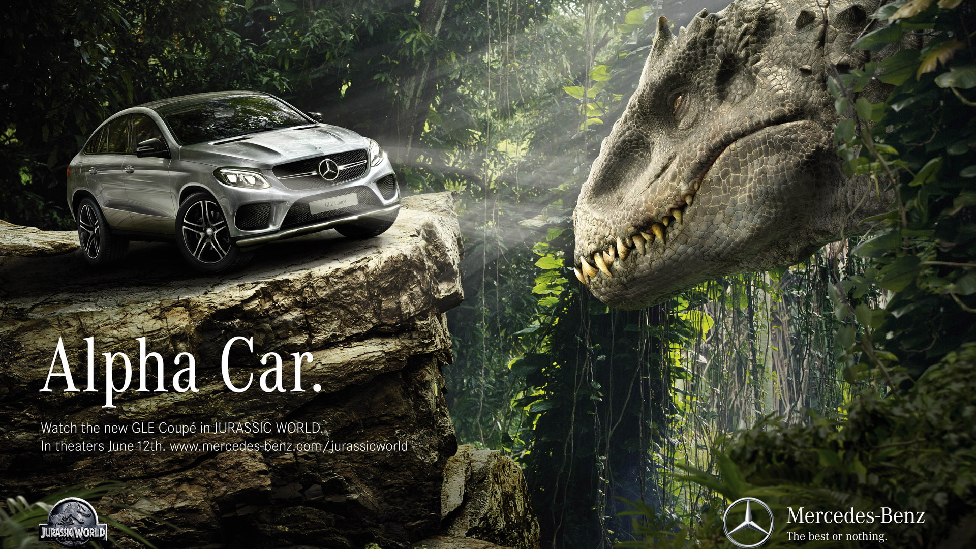 Mercedes-Benz vehicles in 'Jurassic World'