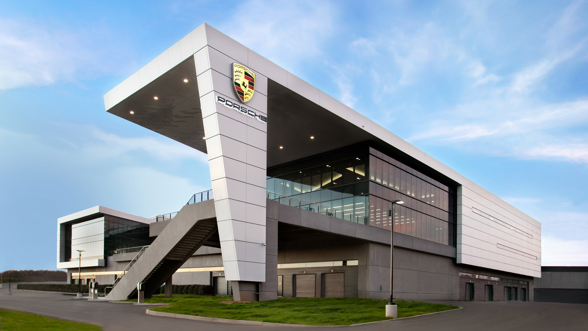 Porsche's U.S. headquarters and Experience Center in Atlanta, Georgia