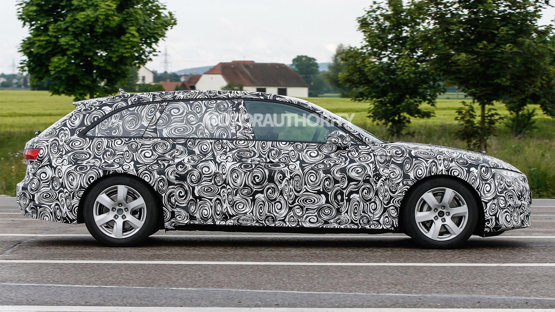 2017 Audi A4 Avant spy shots - Image via S. Baldauf/SB-Medien
