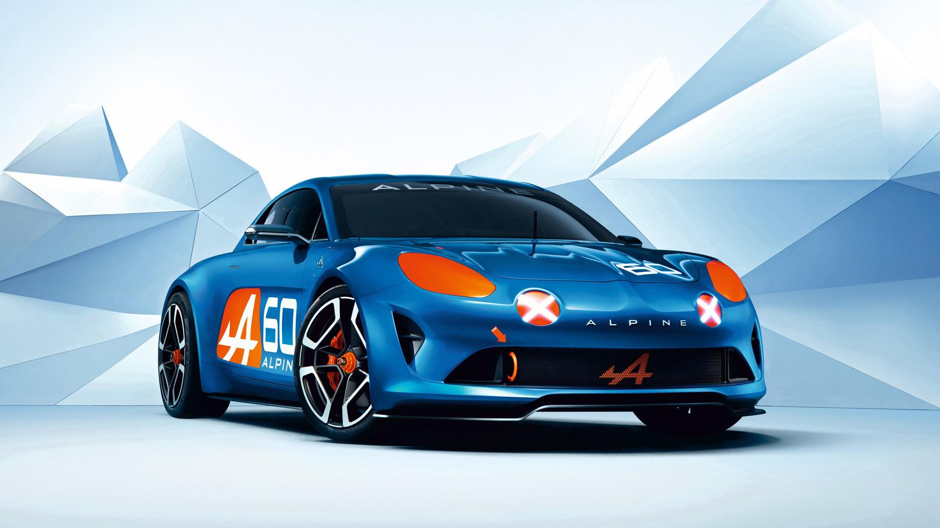 Alpine Celebration concept, 2015 24 Hours of Le Mans