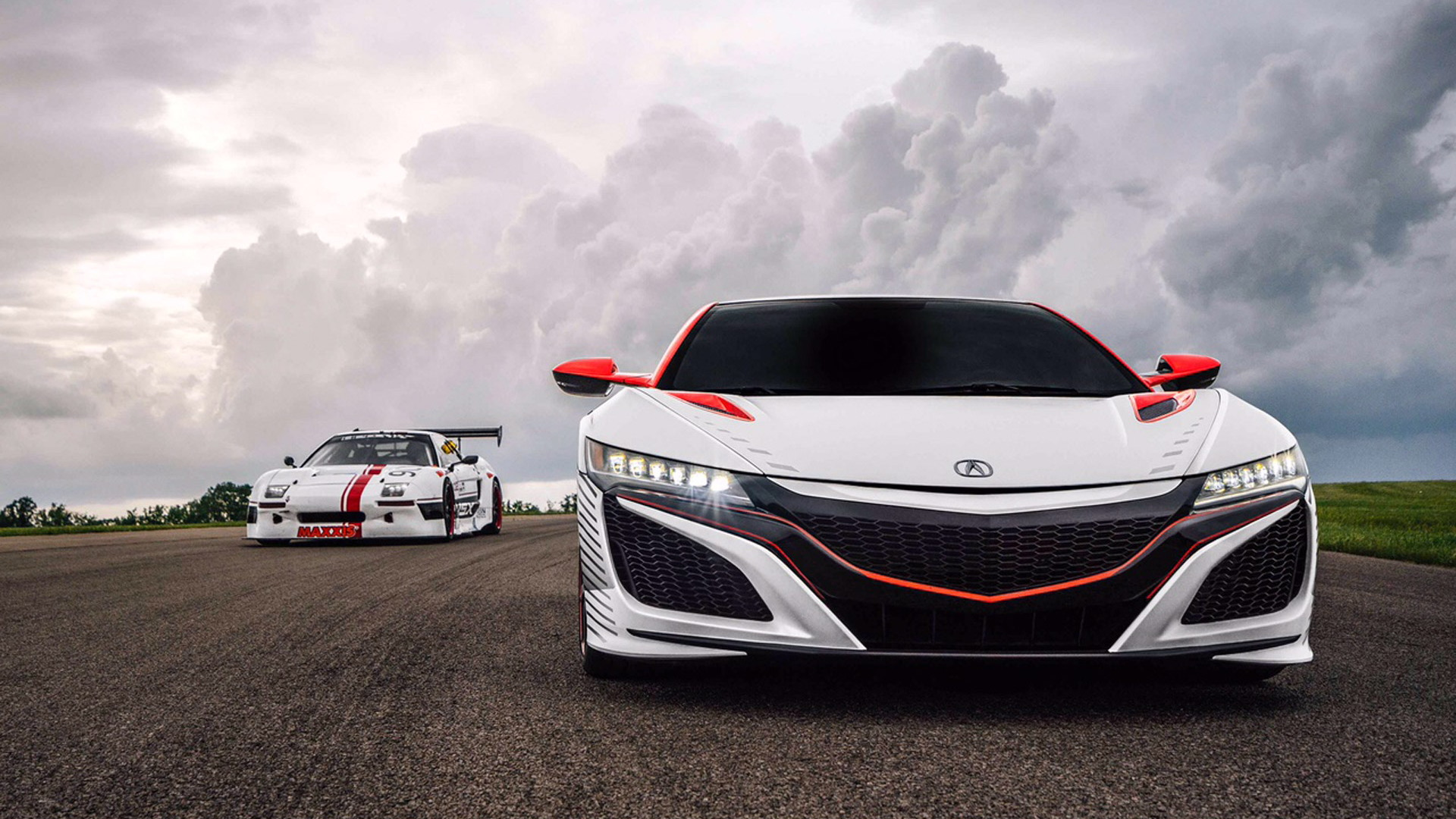 Acura NSX pace car for the 2015 Pikes Peak Hill Climb