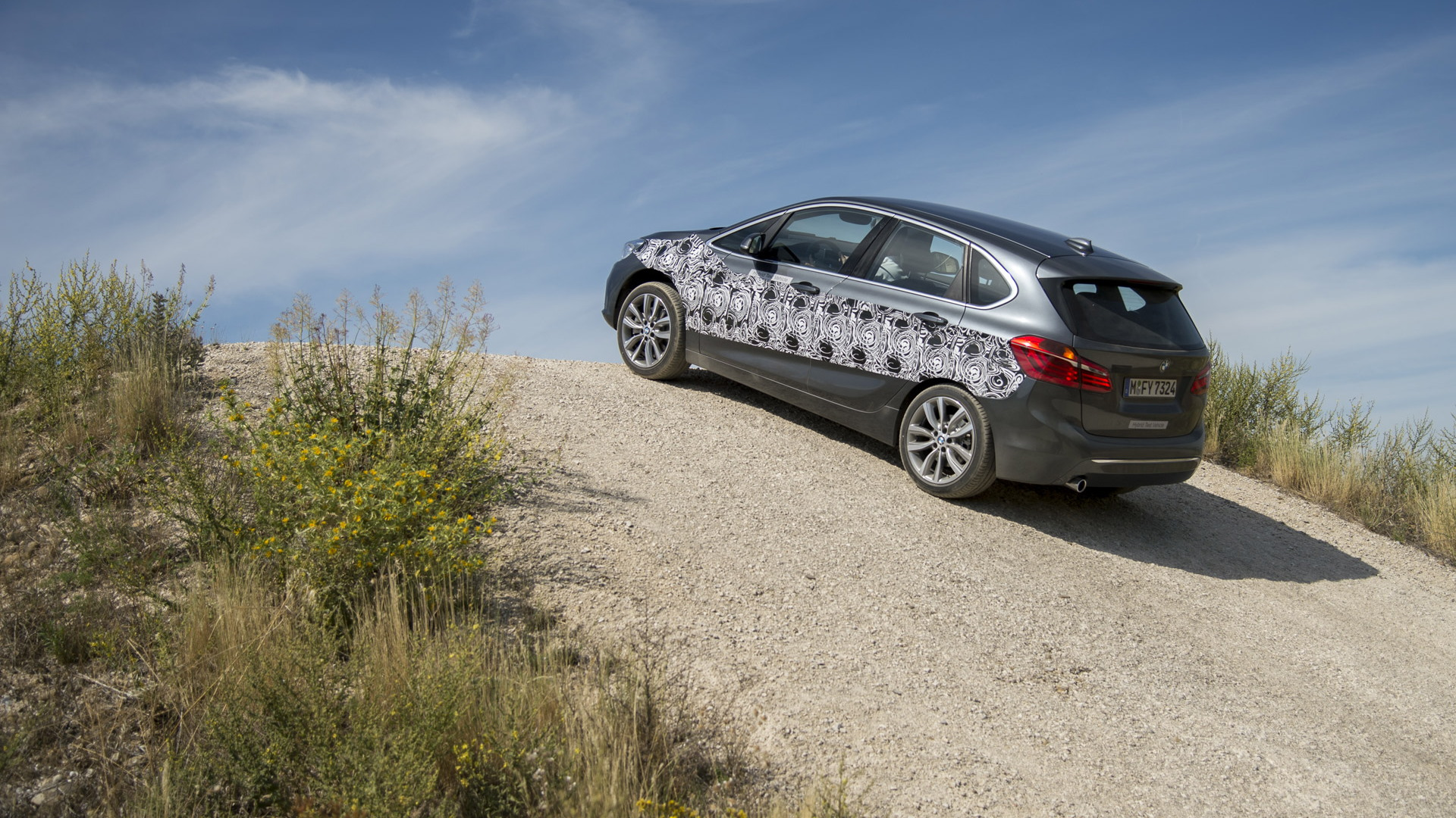 2016 BMW 2-Series Active Tourer plug-in hybrid prototype