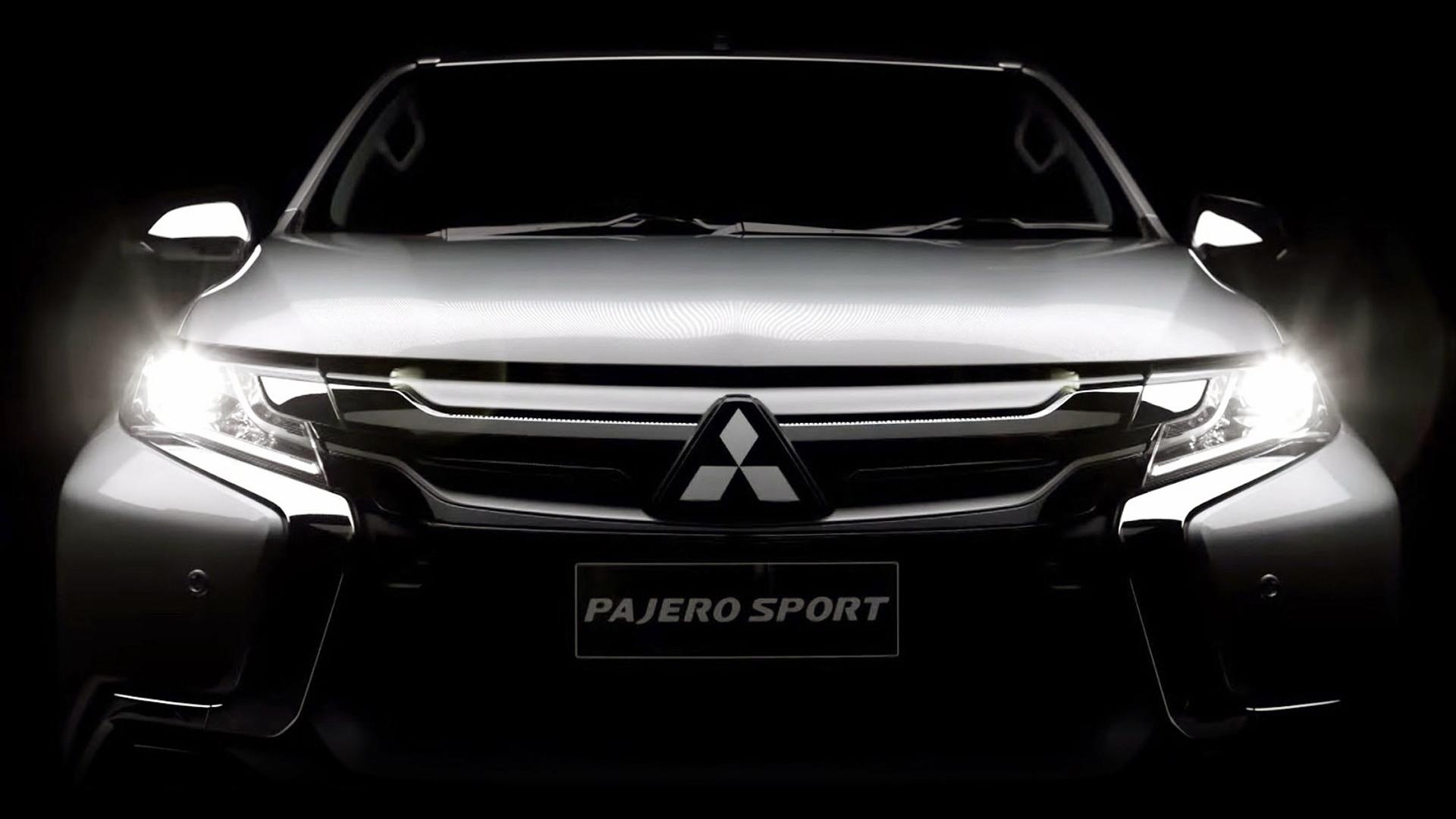 Teaser for 2017 Mitsubishi Montero Sport (Pajero Sport, Challenger)