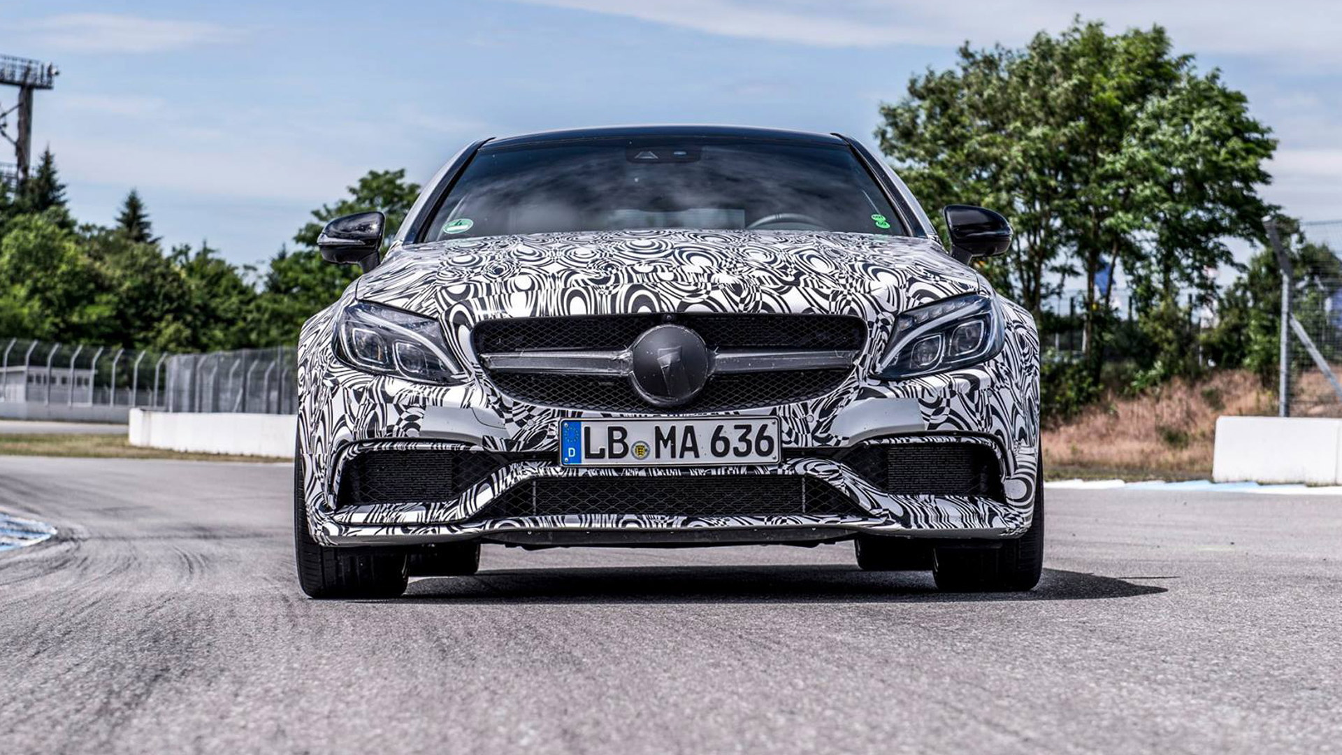 Teaser for 2017 Mercedes-AMG C63 Coupe