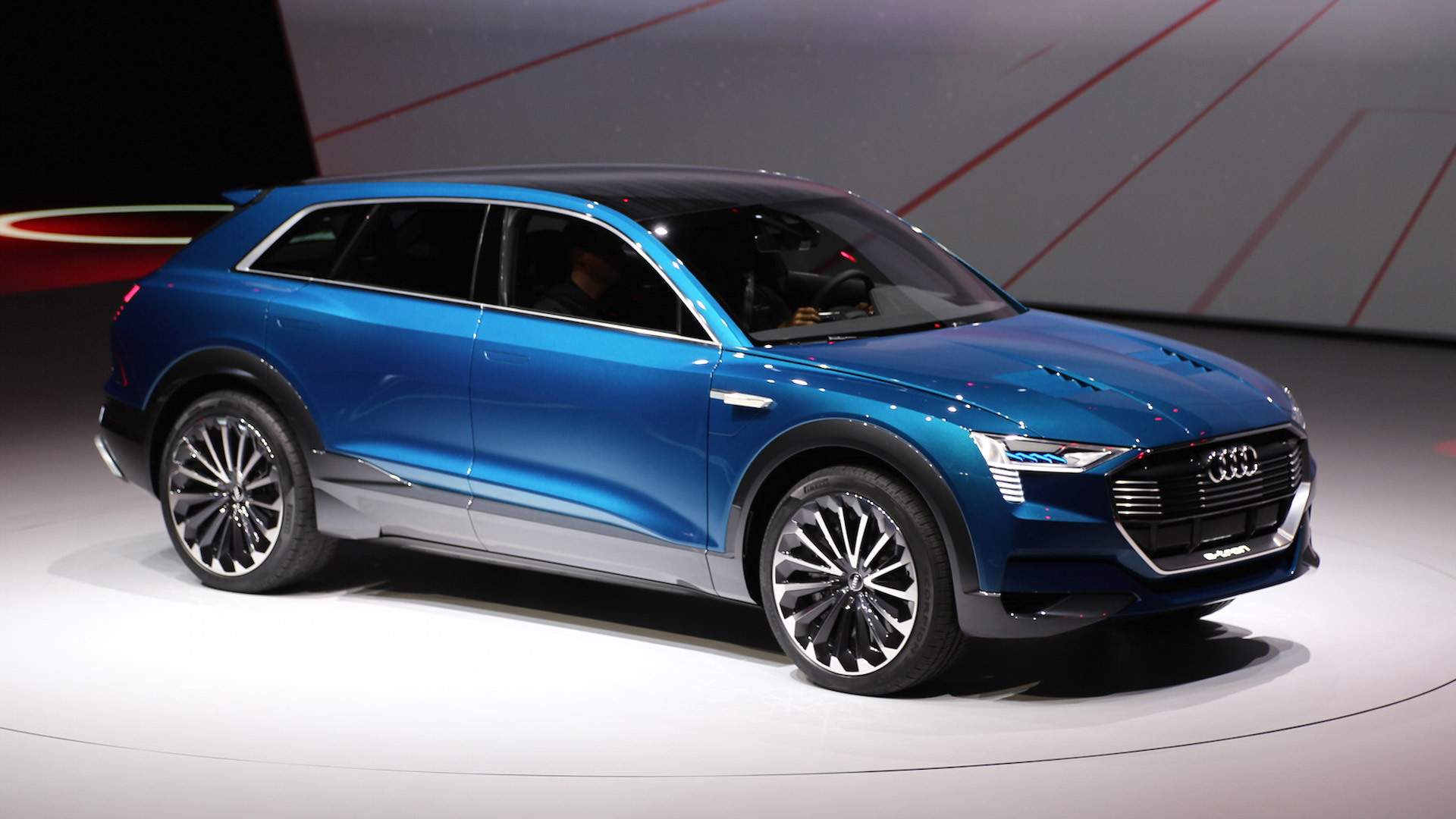 Audi E Tron Quattro Concept 2018 Electric Car Previewed At Frankfurt Motor Show
