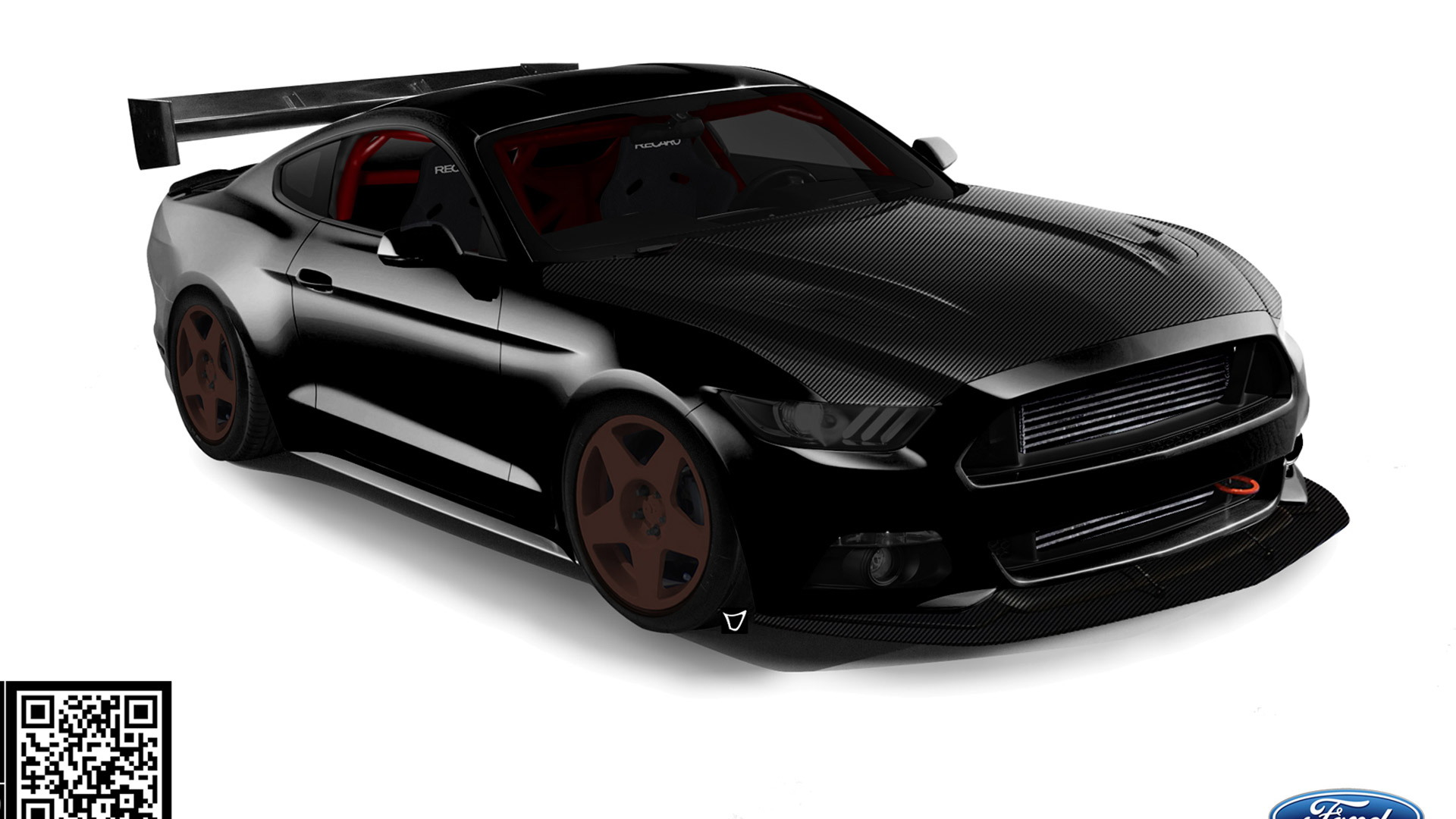 2016 Ford Mustang by Bisimoto, 2015 SEMA show