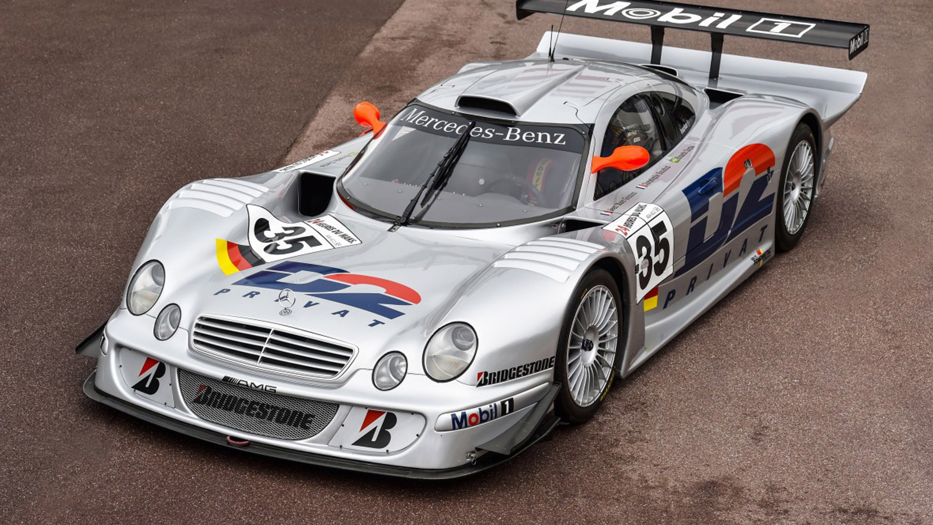 1998 Mercedes-Benz CLK LM race car
