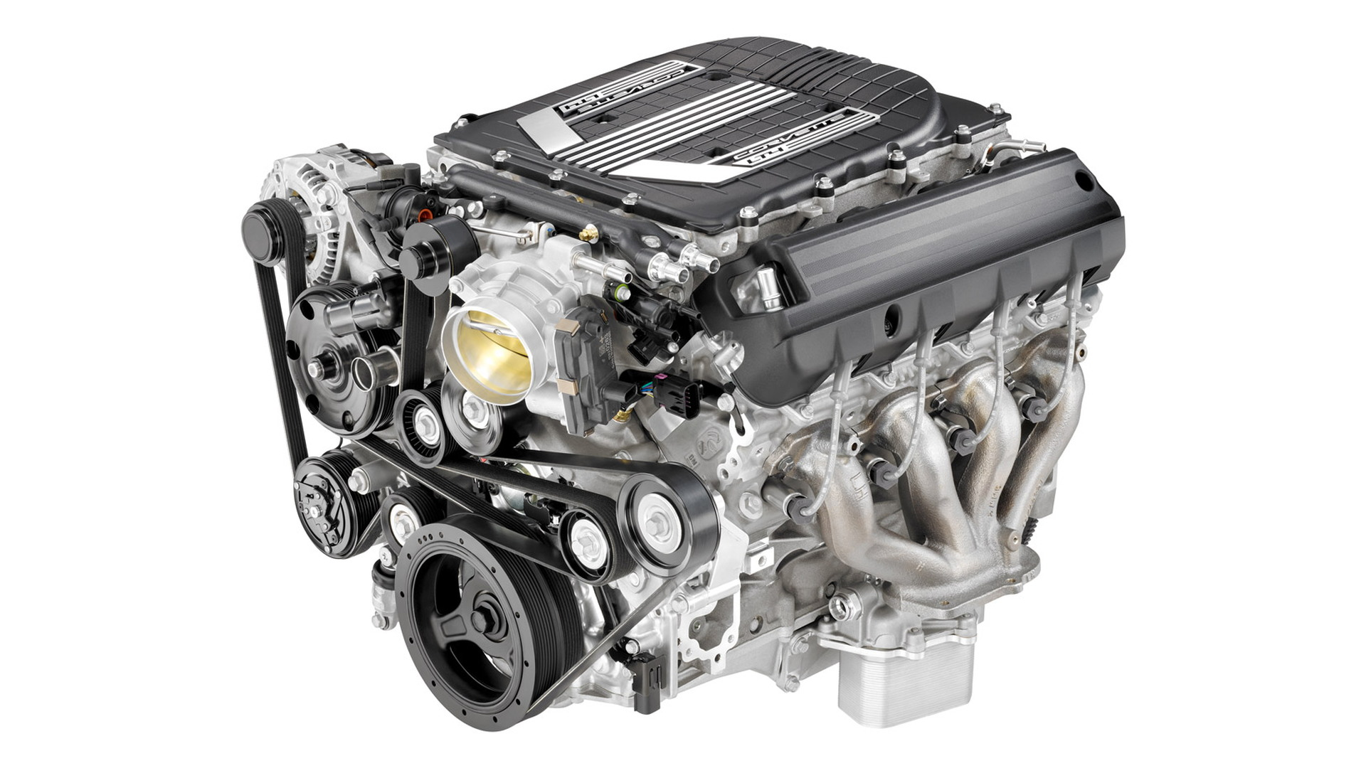 Supercharged 6.2-liter LT4 V-8