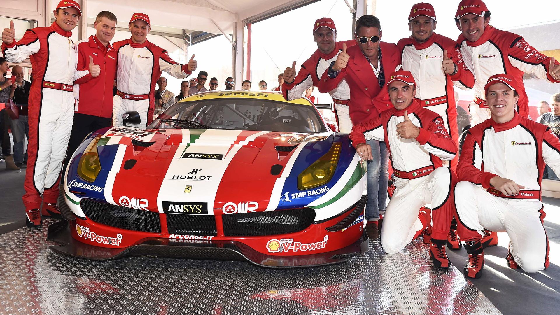 2016 Ferrari 488 GTE, 2015 Finali Mondiali