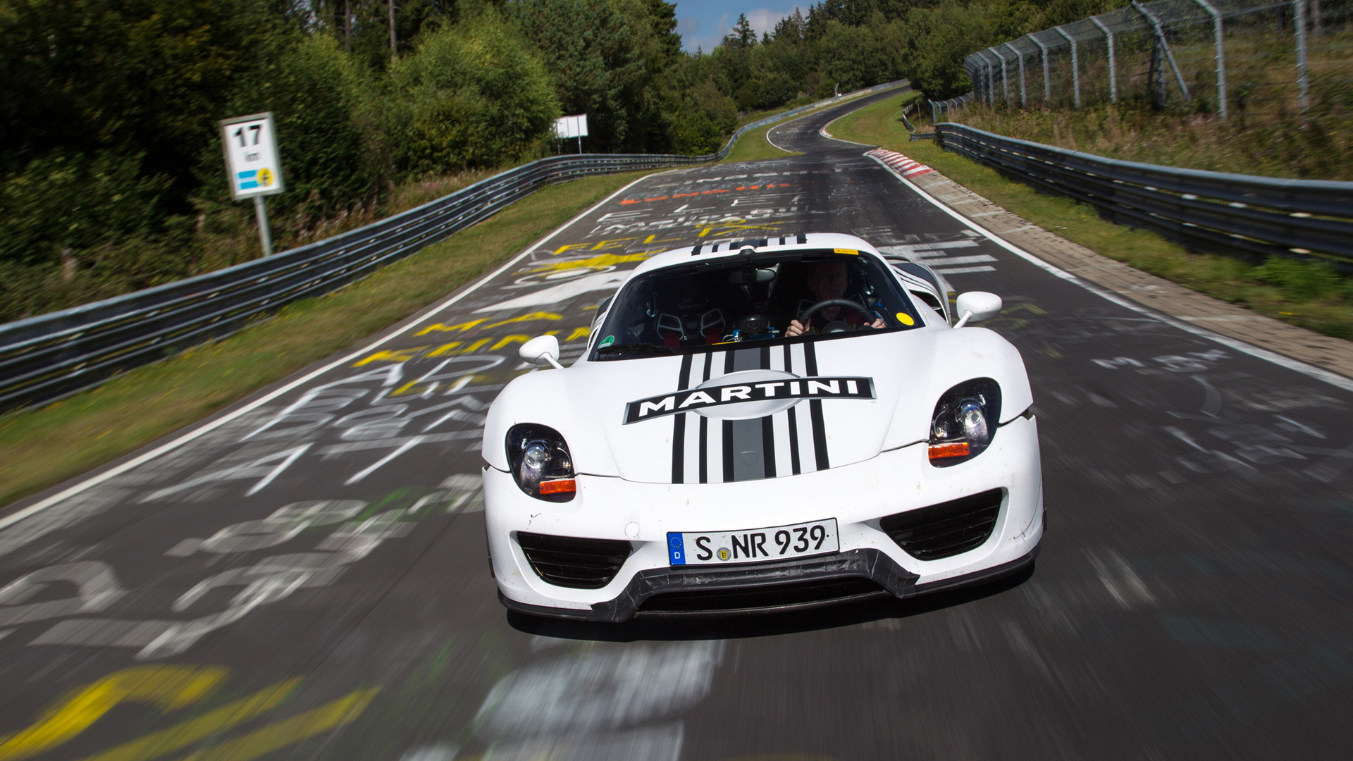 Porsche 918 Spyder on the Nürburgring