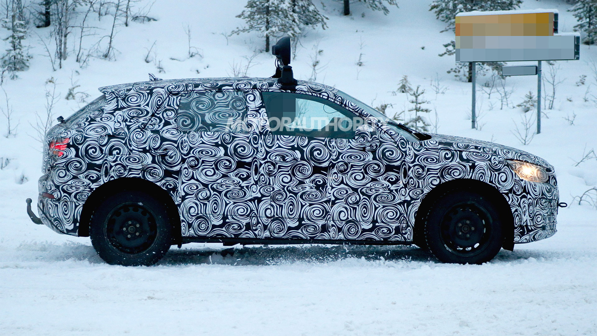 2016 Audi Q2 spy shots - Image via S. Baldauf/SB-Medien