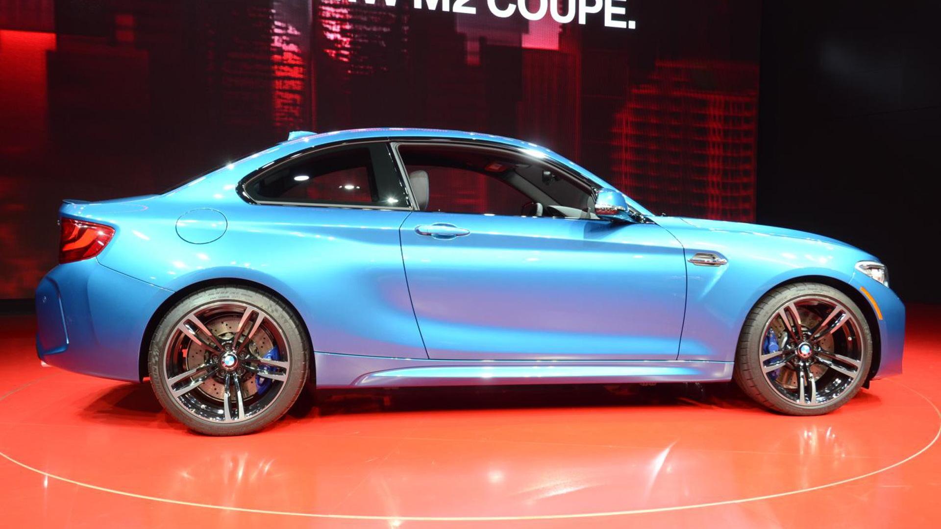 2016 BMW M2, 2016 Detroit Auto Show