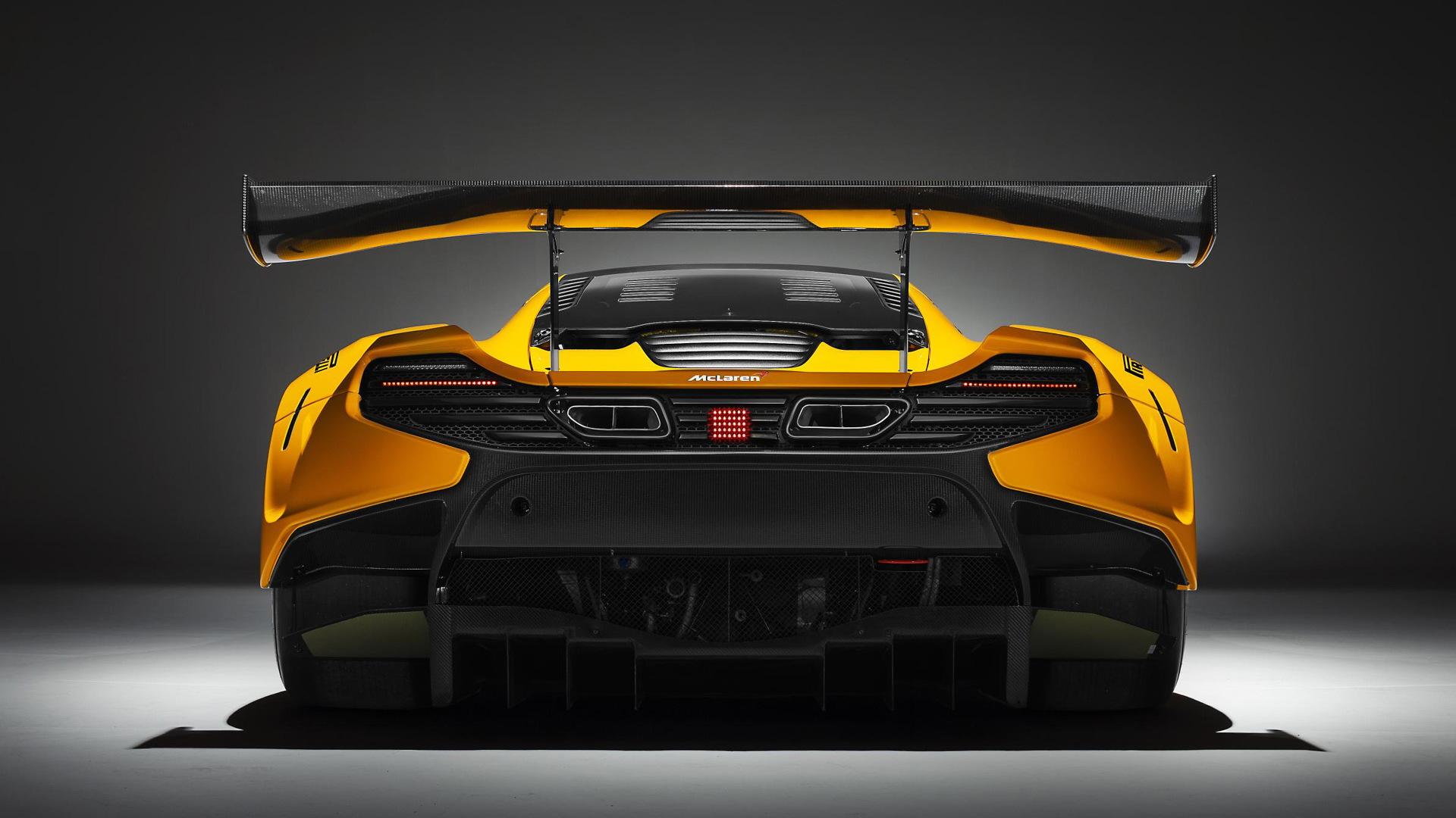 2016 McLaren 650S GT3 race car