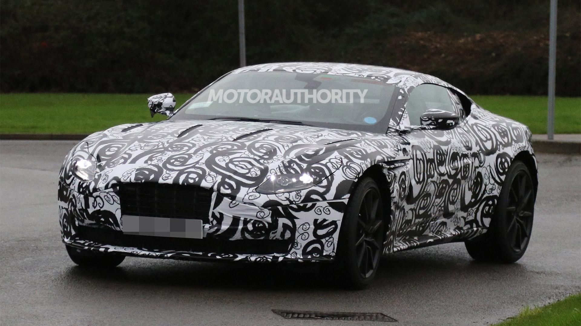 2017 Aston Martin DB11 spy shots - Image via S. Baldauf/SB-Medien