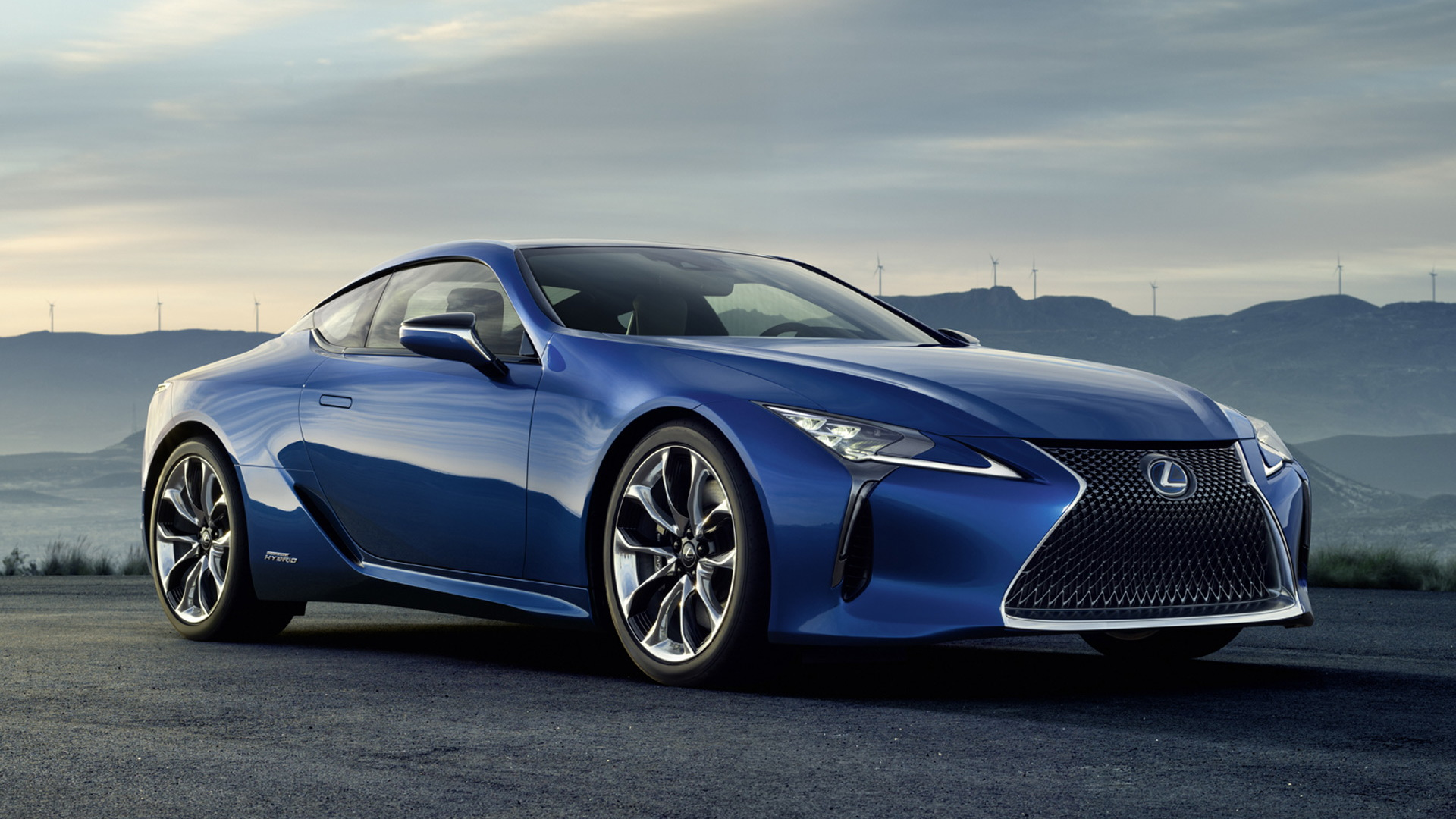 2018 Lexus LC 500h: Geneva Debut For Hybrid Performance Coupe