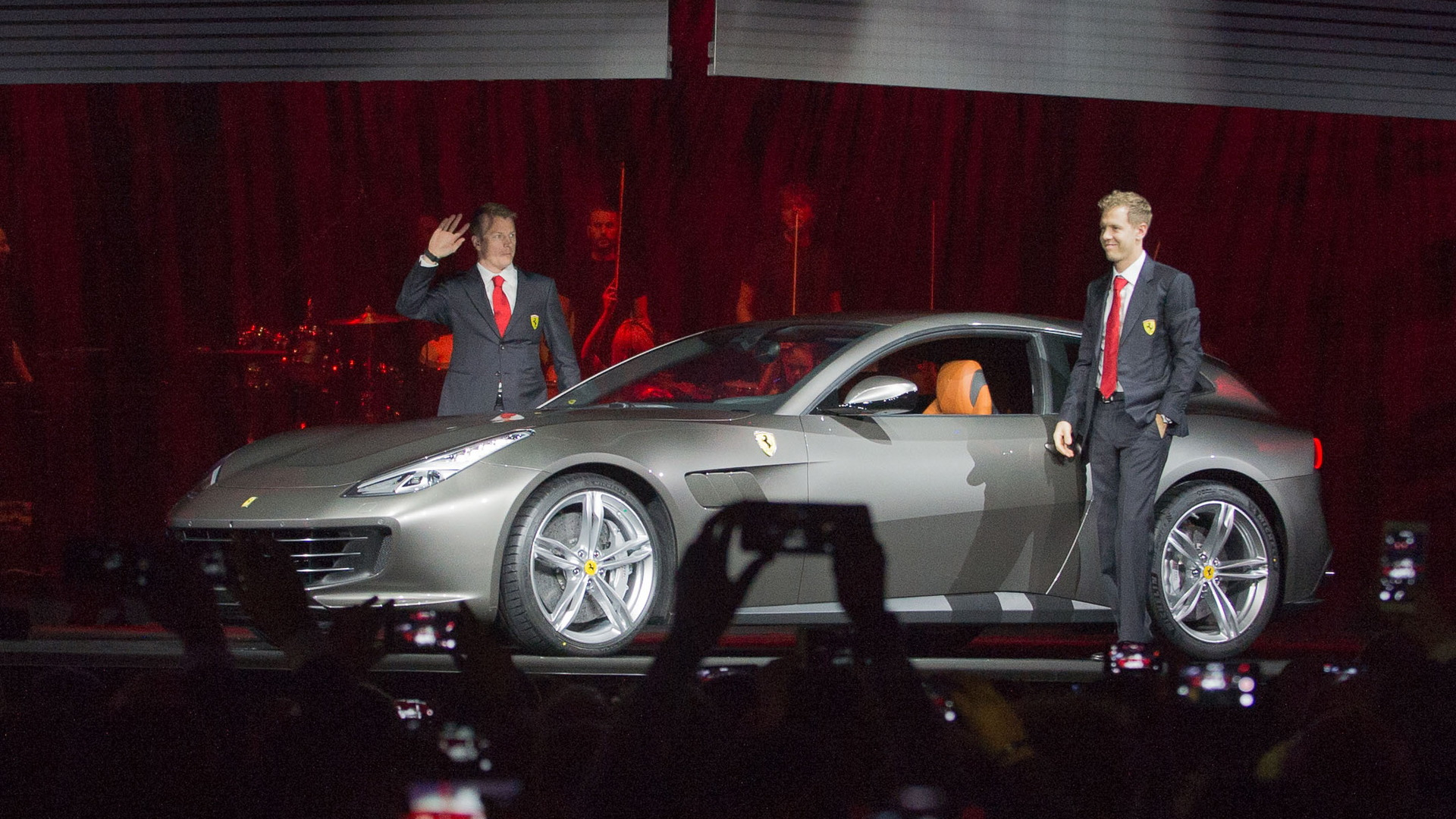 Ferrari GTC4 Lusso launch at Villa Erba, February 15, 2016