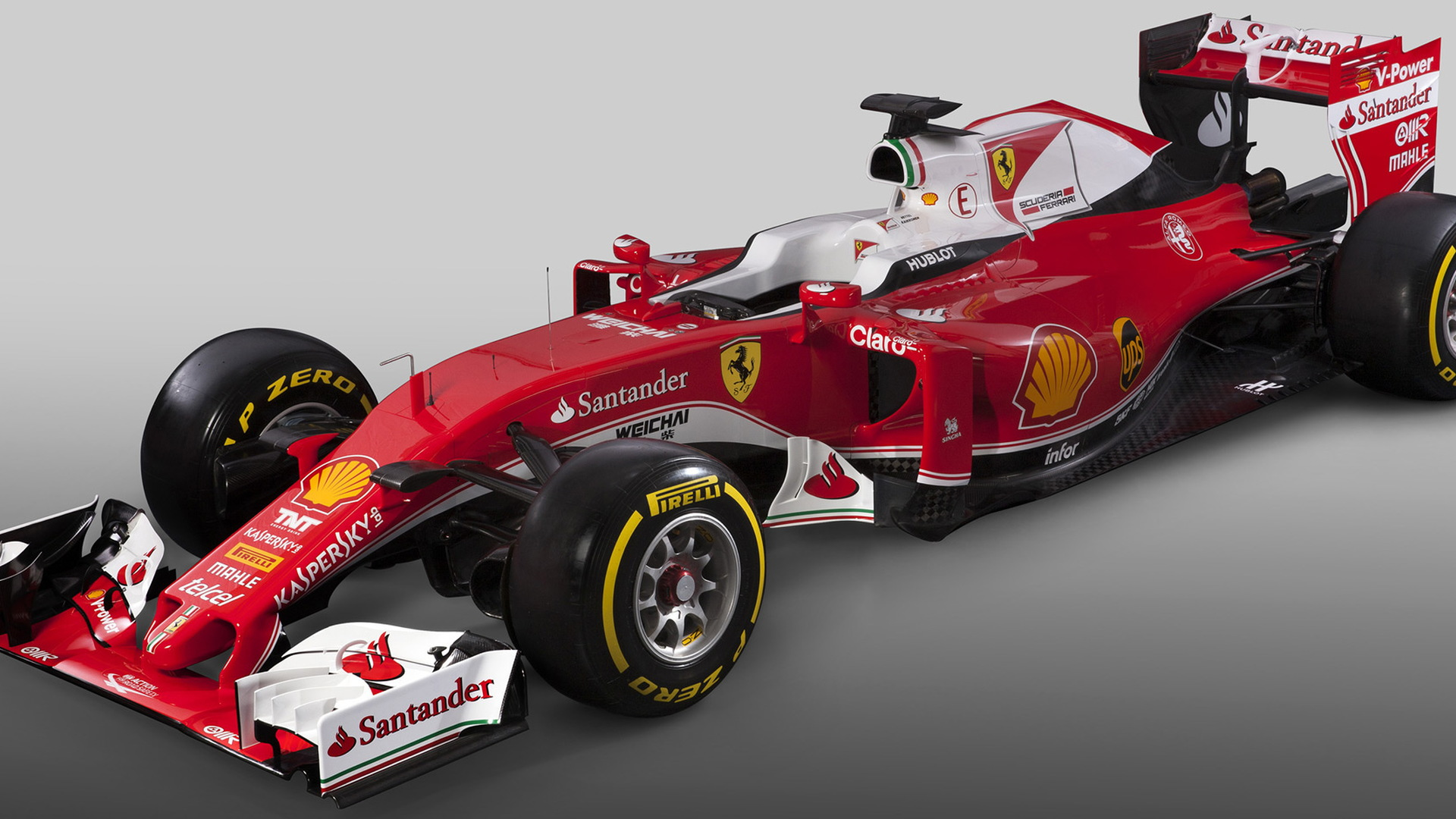 Ferrari SF16-H 2016 Formula One race car