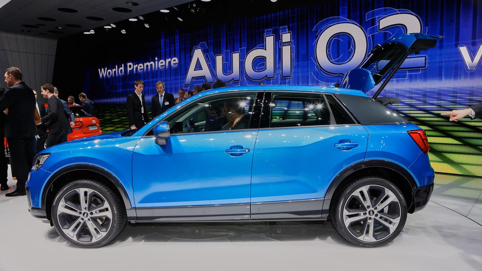2016 Audi Q2, 2016 Geneva Motor Show