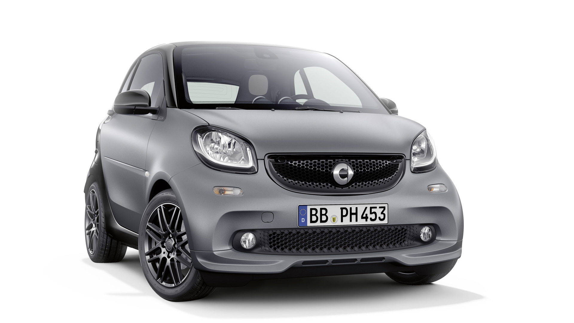 2017 Smart ForTwo equipped with Brabus Sports package