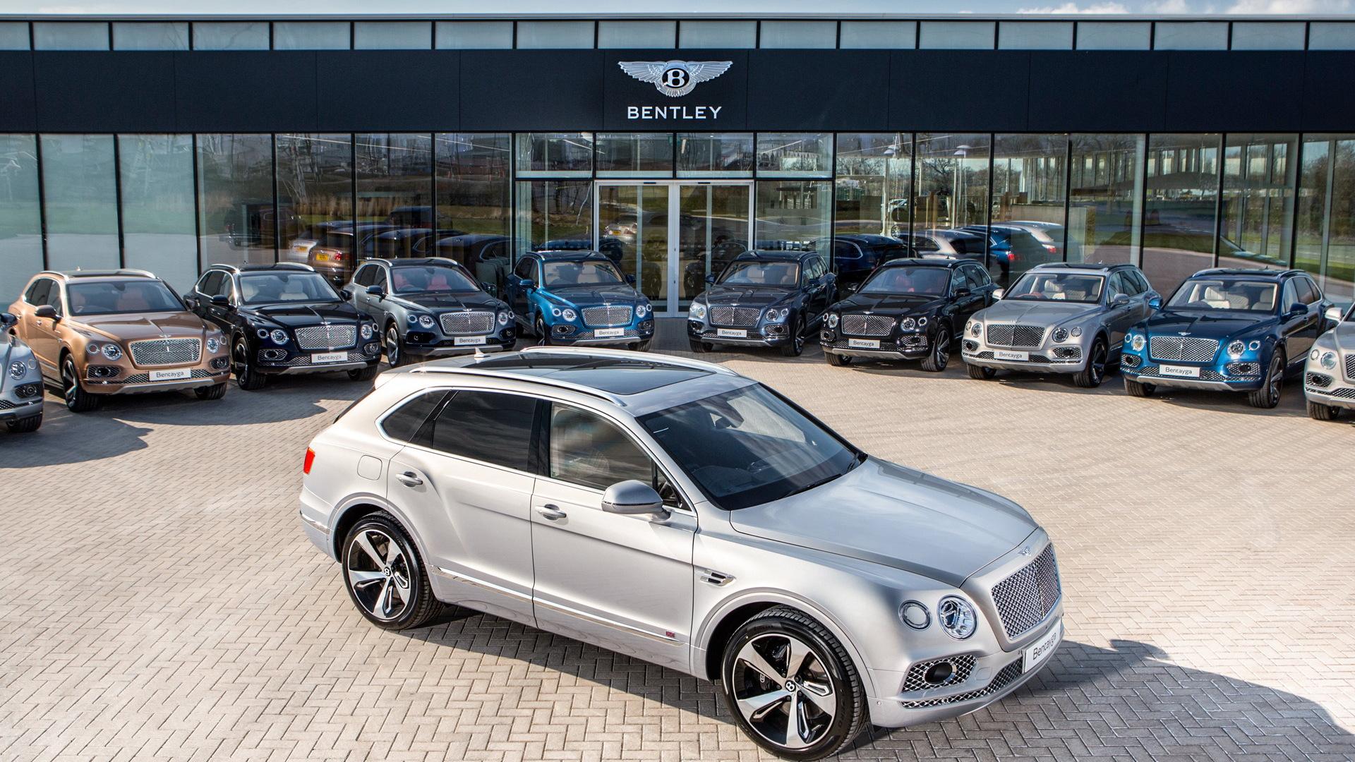 2017 Bentley Bentayga delivery