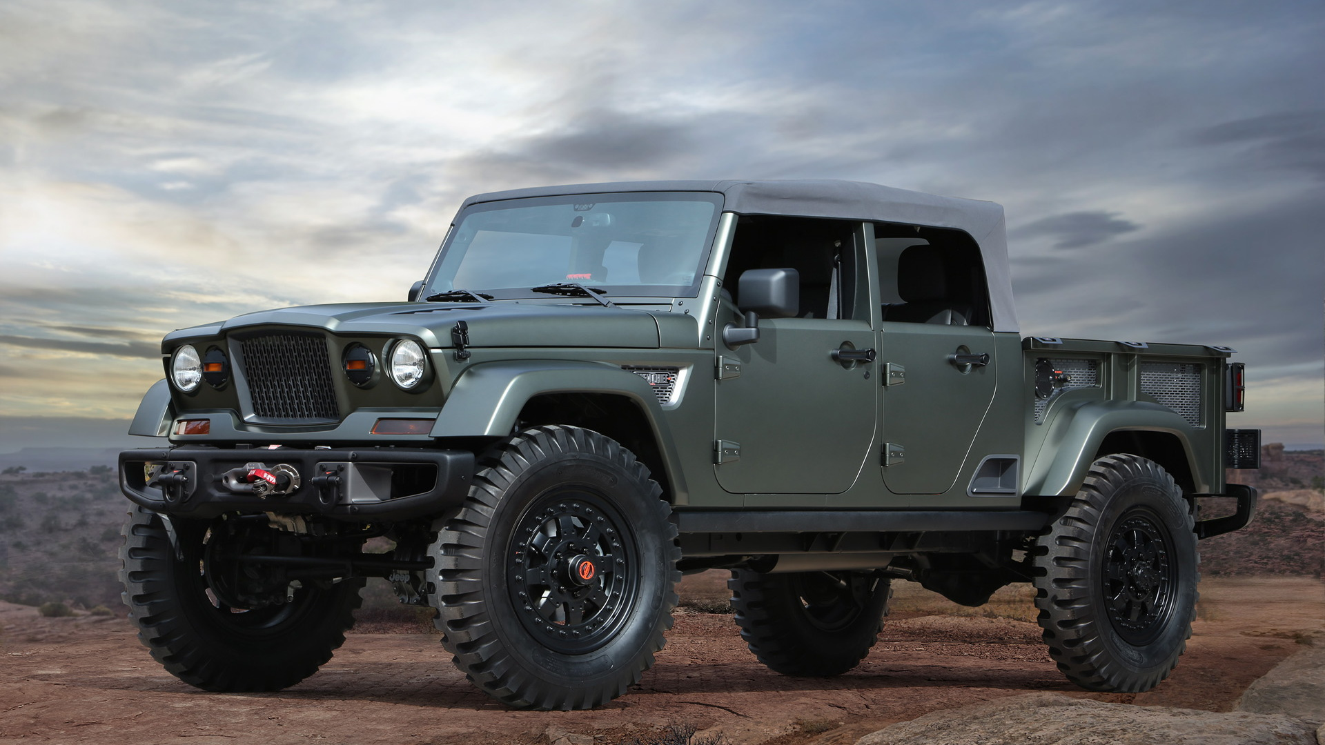 Jeep Crew Chief 715 concept, 2016 Easter Jeep Safari