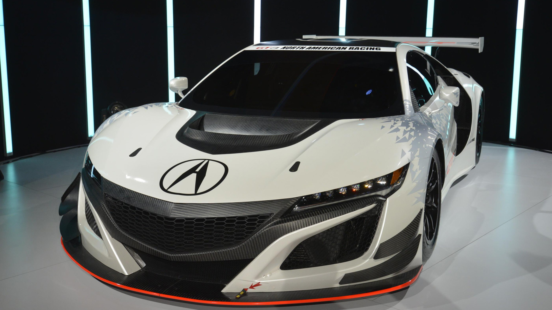 2017 Acura NSX GT3 race car, 2016 New York Auto Show