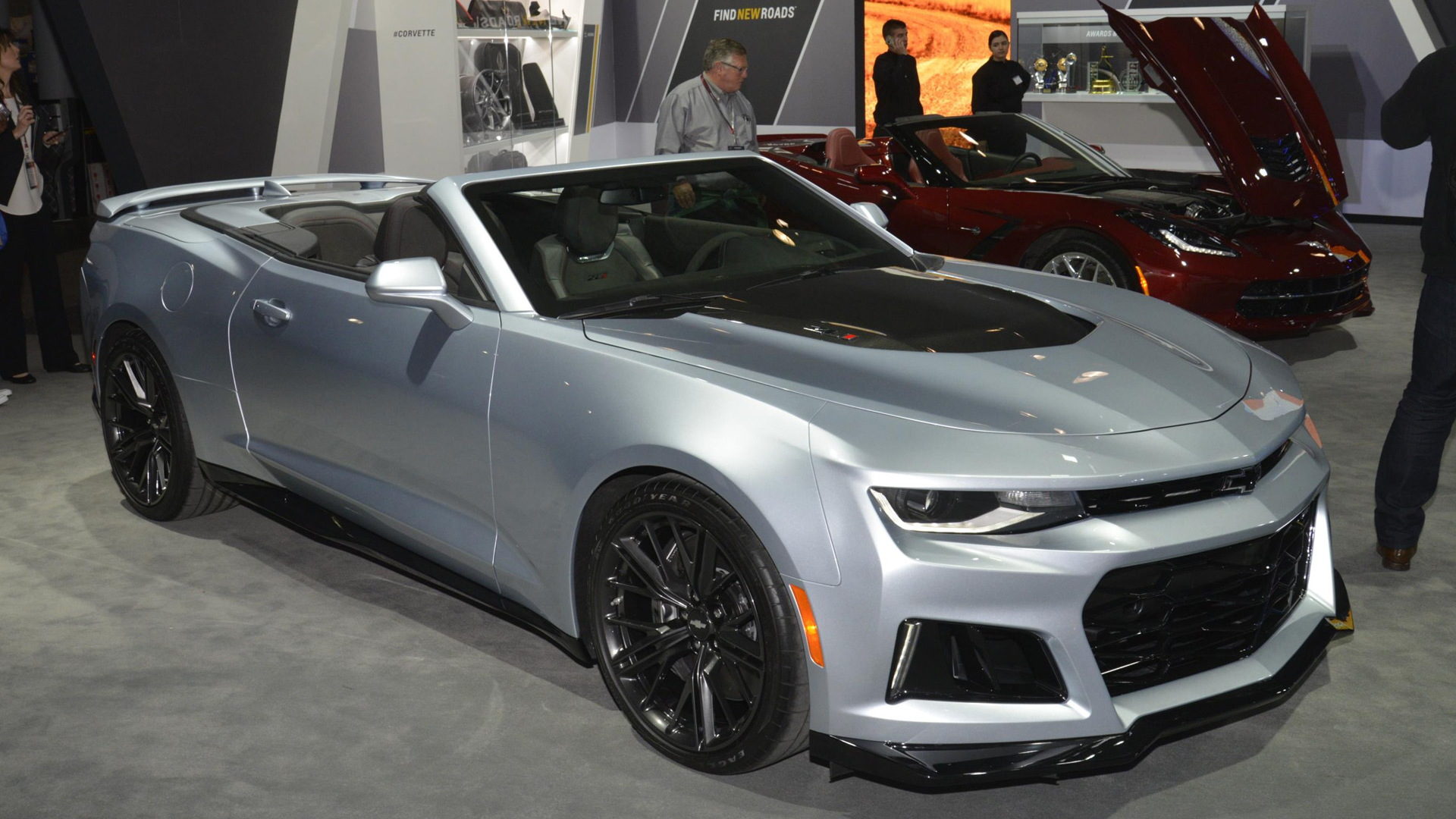 2017 Chevrolet Camaro Zl1 Convertible 2016 New York Auto Show