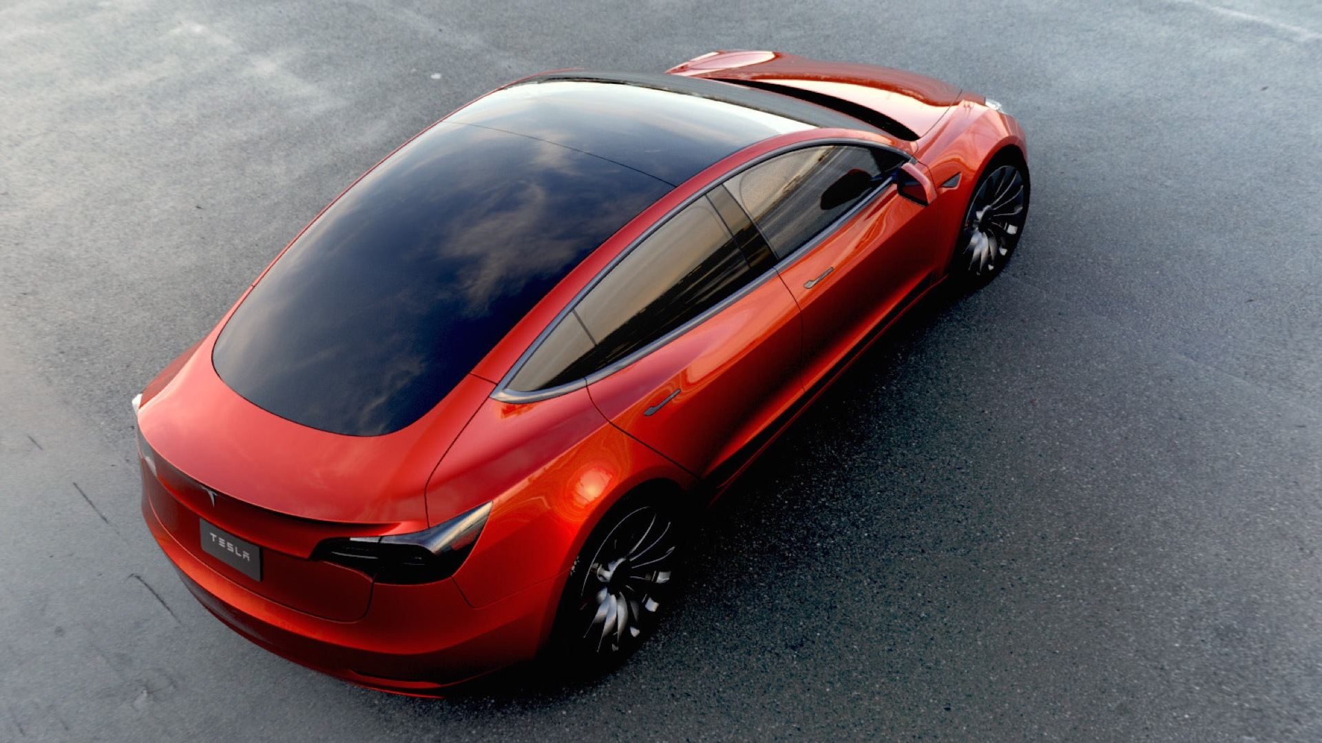 Tesla Model 3 design prototype  -  March 2016