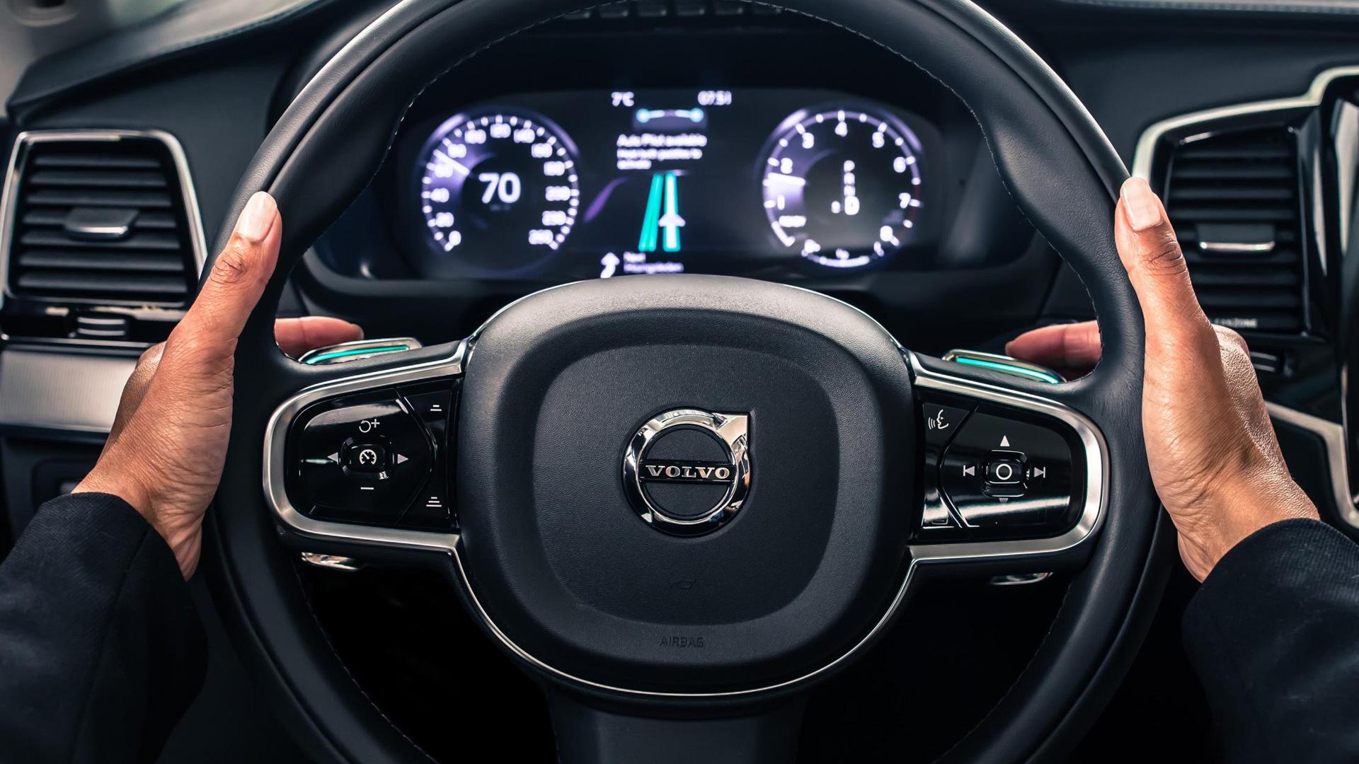 Volvo Drive Me autonomous car pilot project in Gothenburg, Sweden