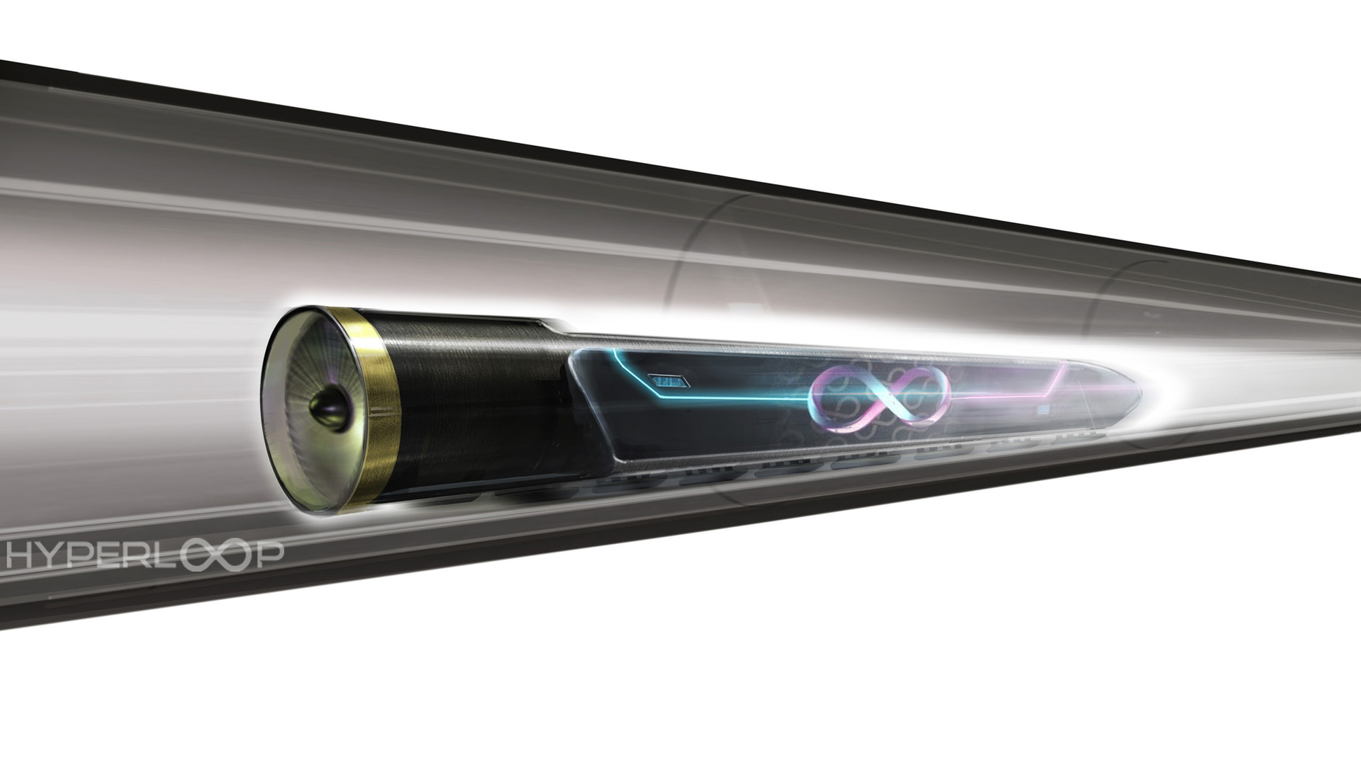 Hyperloop One concept drawing